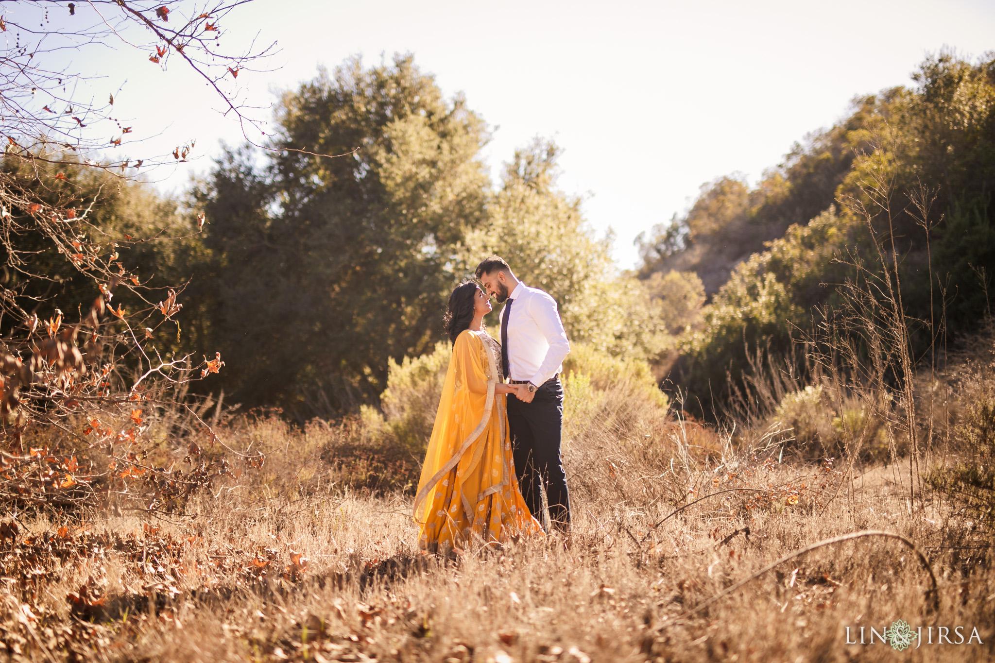 01 laguna beach indian couple post wedding photography