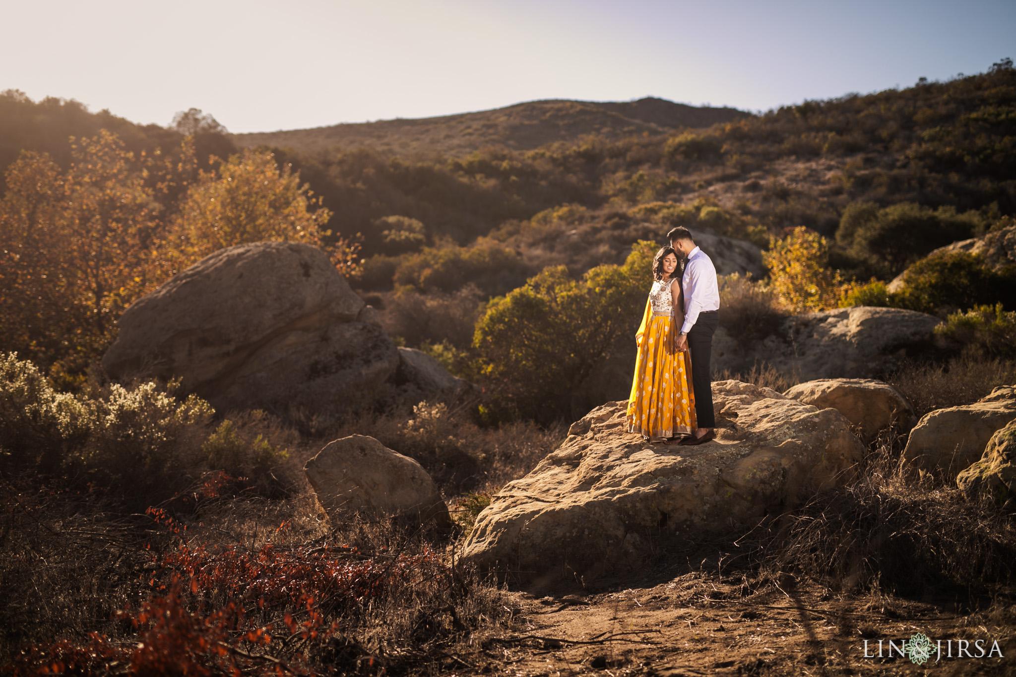07 laguna beach indian couple post wedding photography
