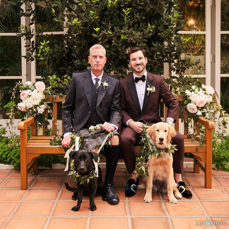 11 sherman library gardens corona del mar same sex wedding photography