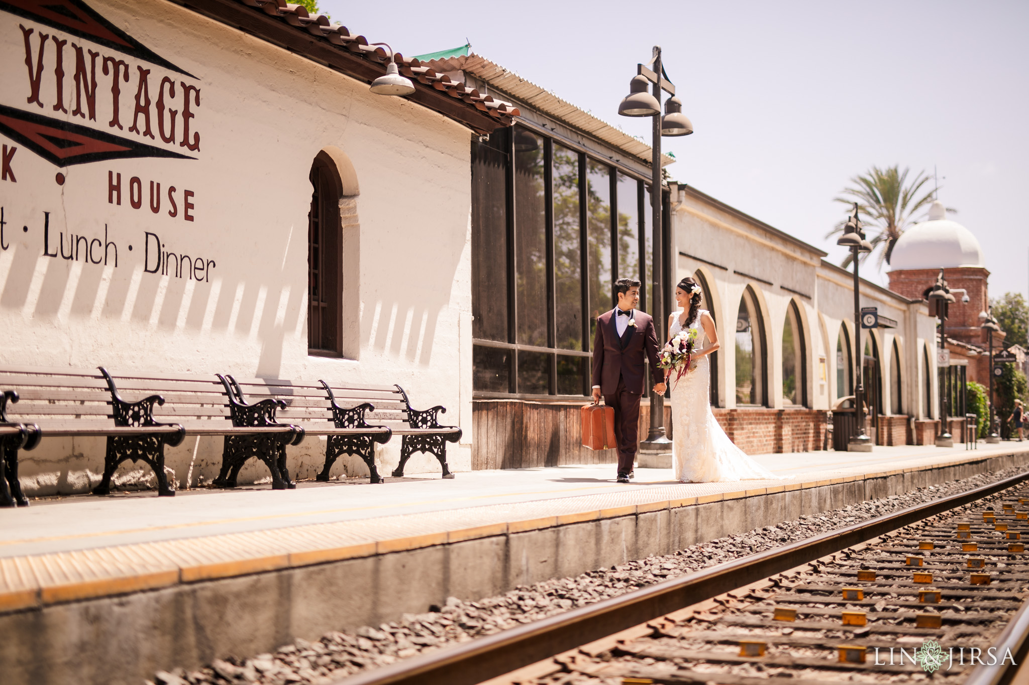 18 san juan capistrano travel train station wedding photography