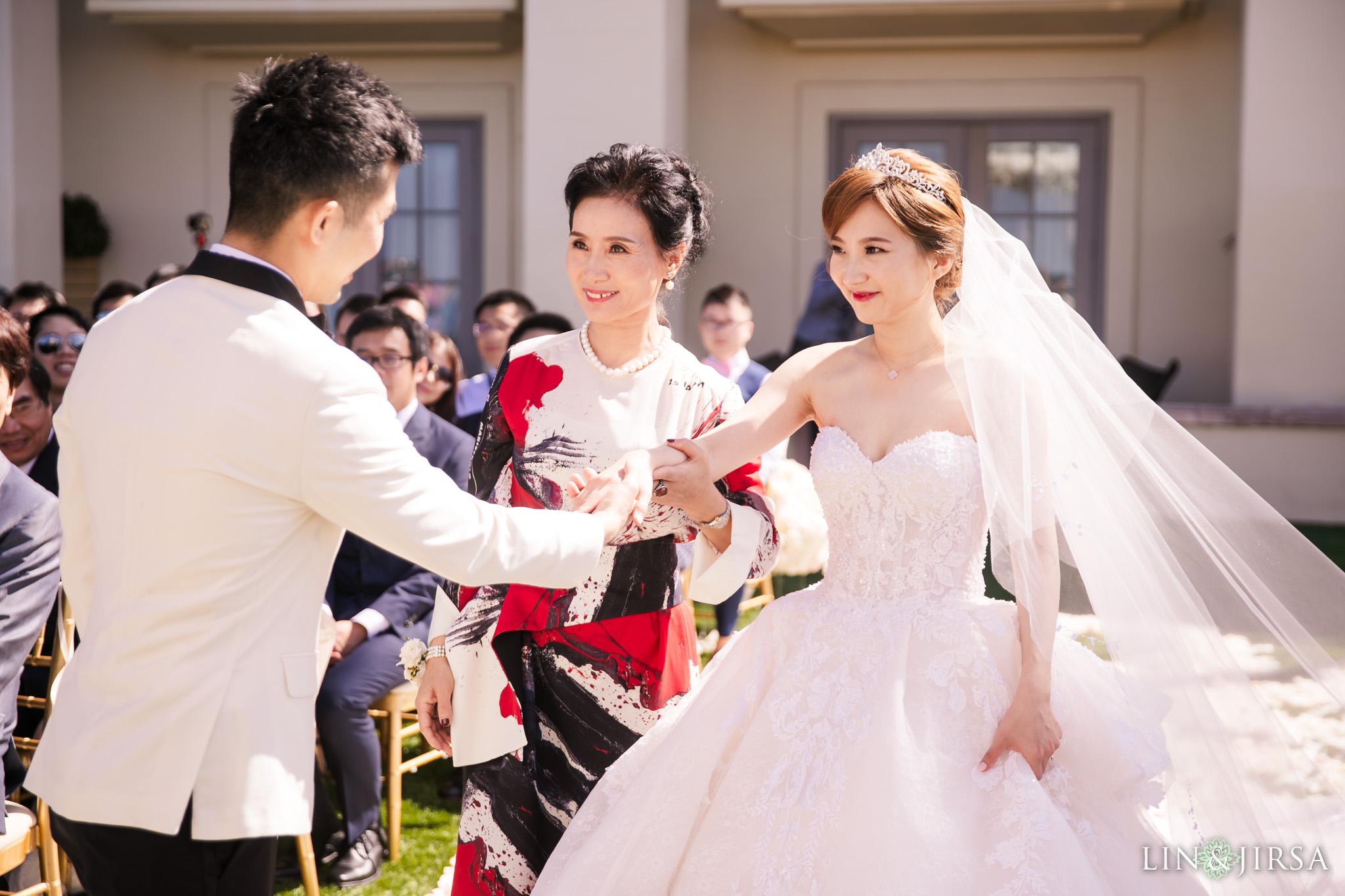 19 ritz carlton laguna niguel wedding chinese