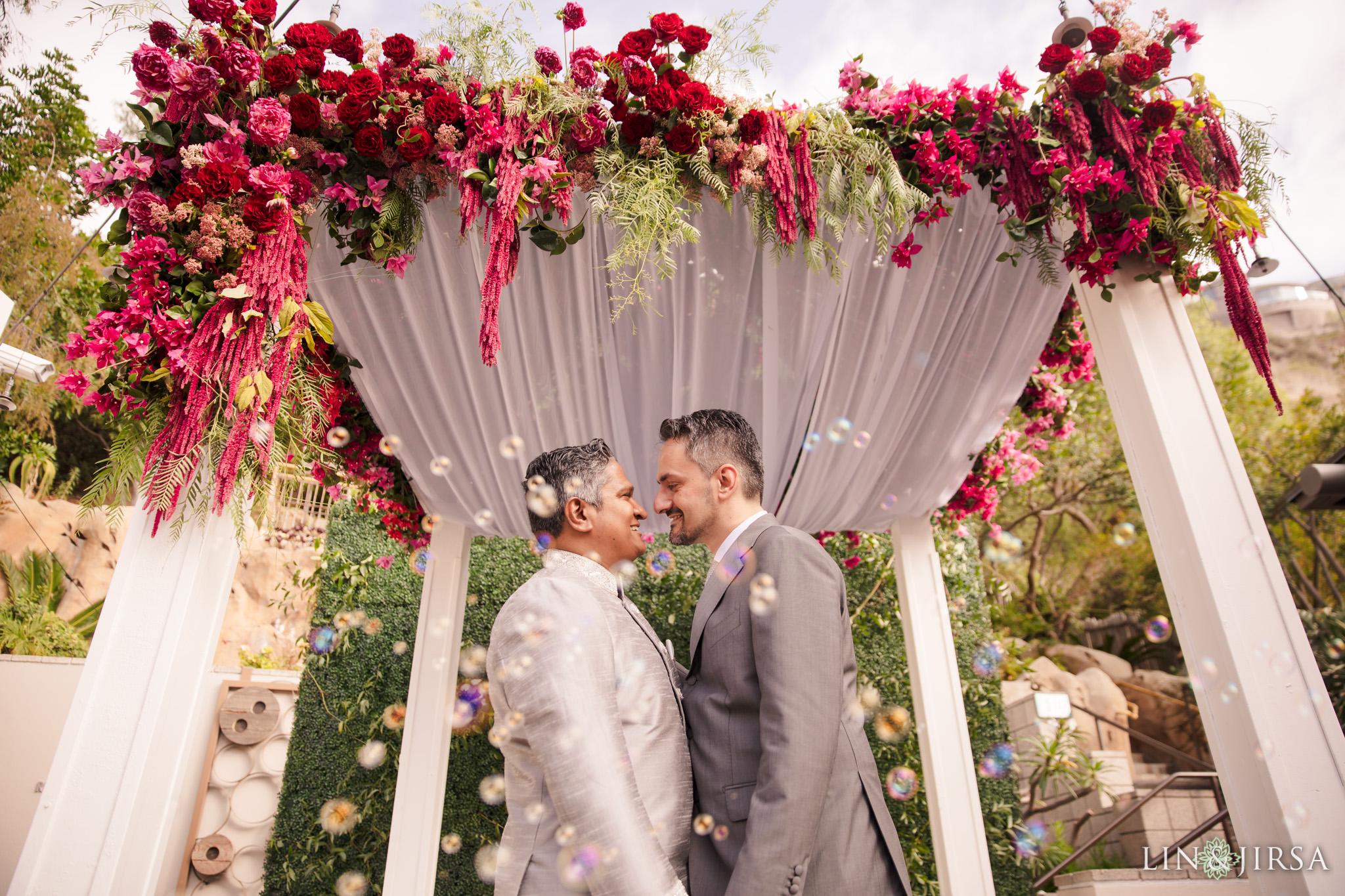 22 seven degrees laguna beach gay wedding photography