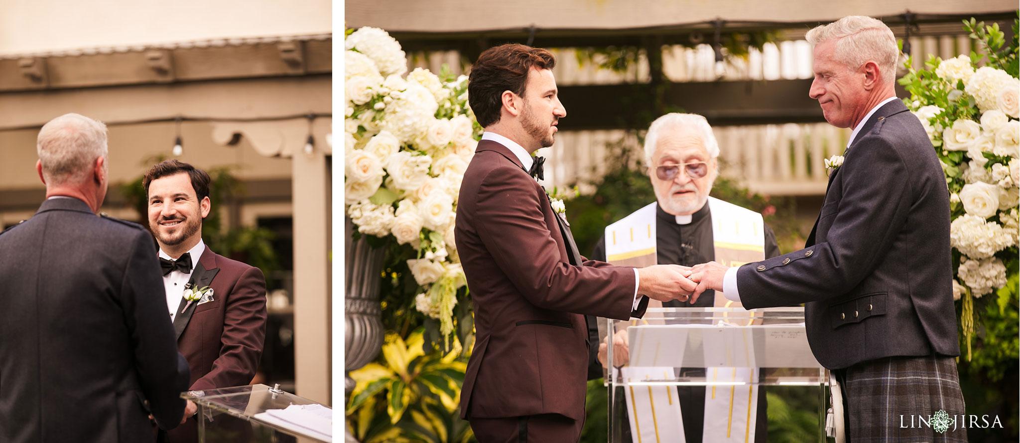 24 sherman library gardens corona del mar same sex wedding photography