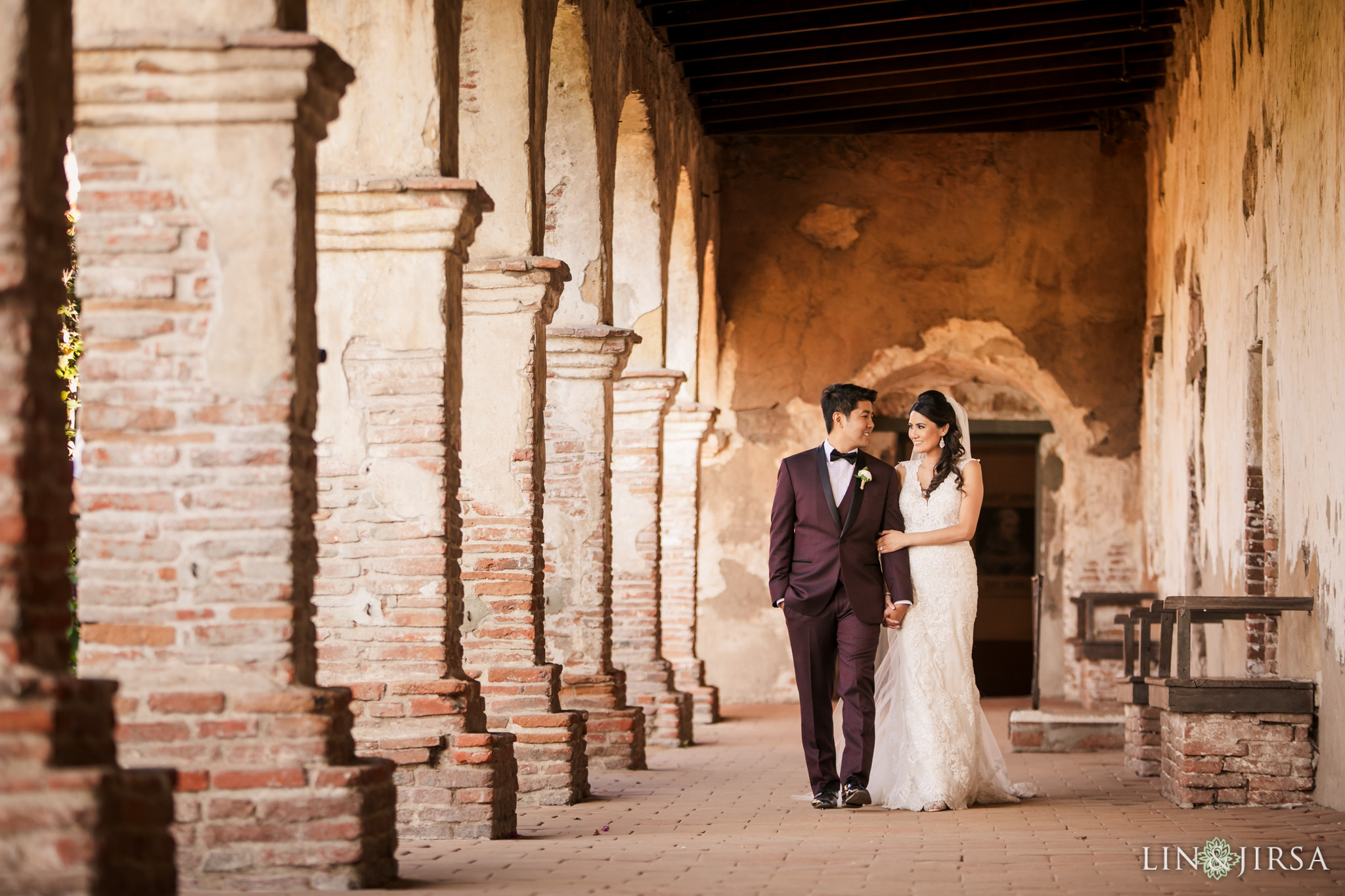 33 mission san juan capistrano wedding photography