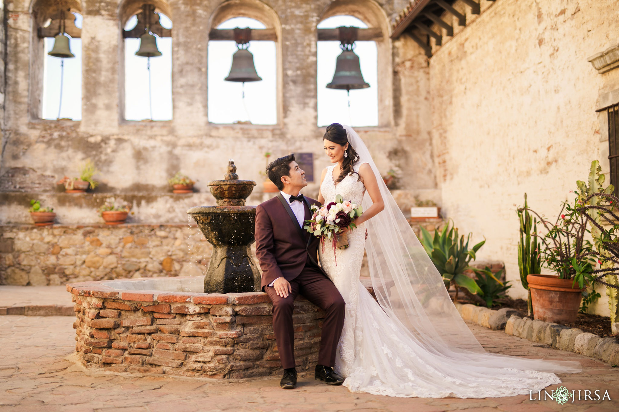 35 mission san juan capistrano wedding photography
