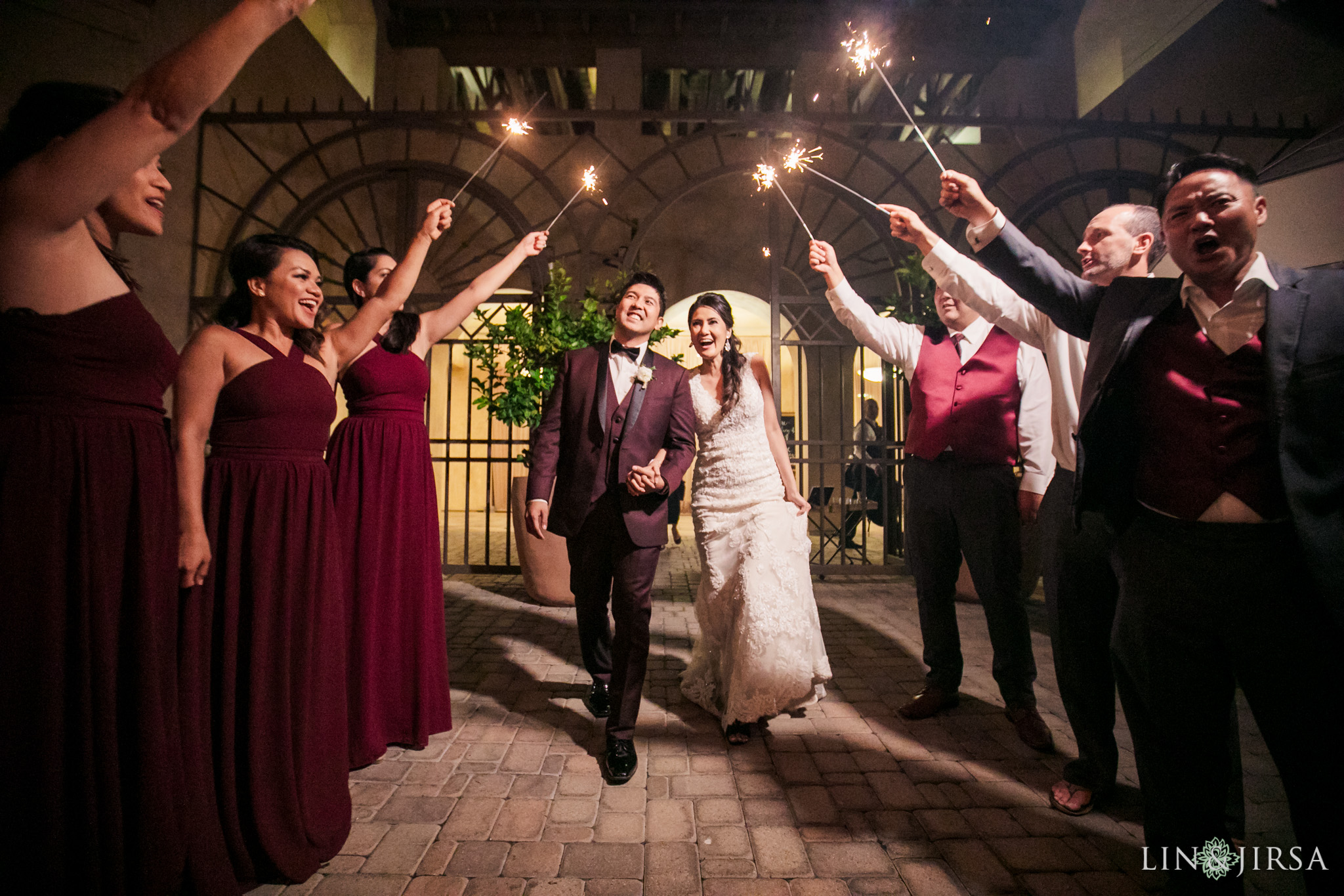 60 san juan capistrano travel theme sparkler exit wedding photography