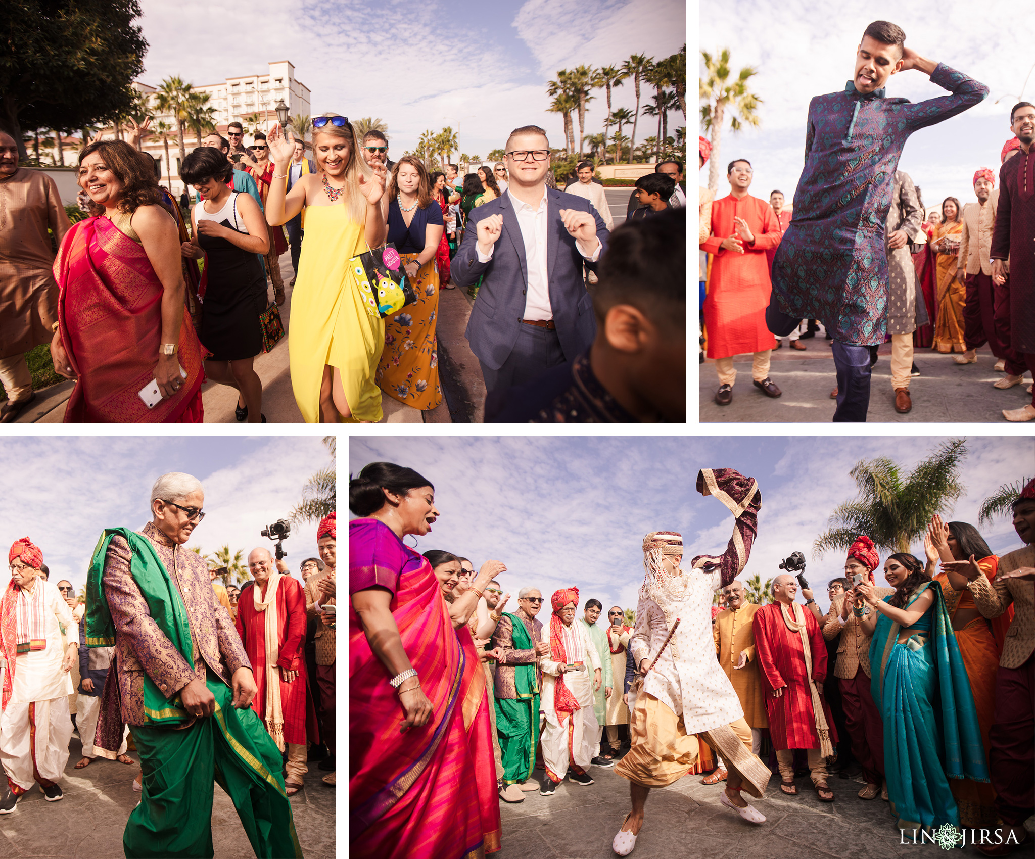 13 Hyatt Regency Huntington Beach Indian Wedding Photography