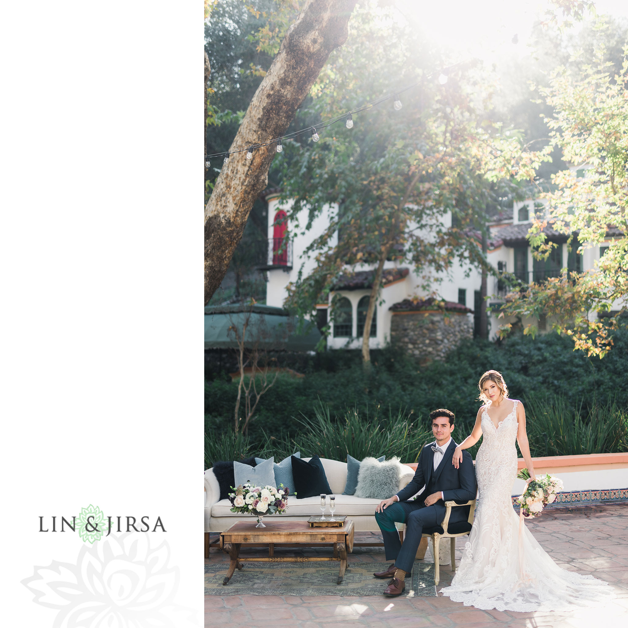 17 Rancho Las Lomas Stylized Wedding Photography