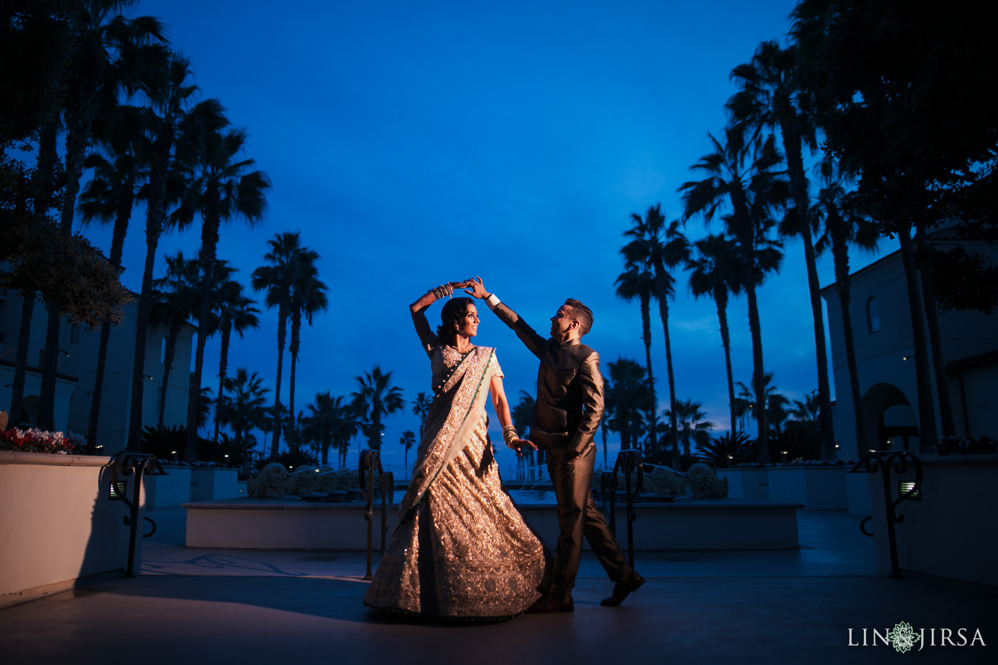 31 Hyatt Regency Huntington Beach Indian Wedding Photography