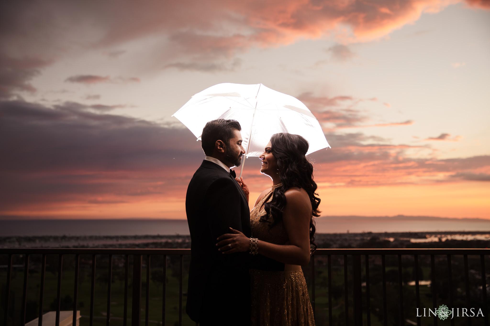 32 newport beach indian rainy wedding photographer