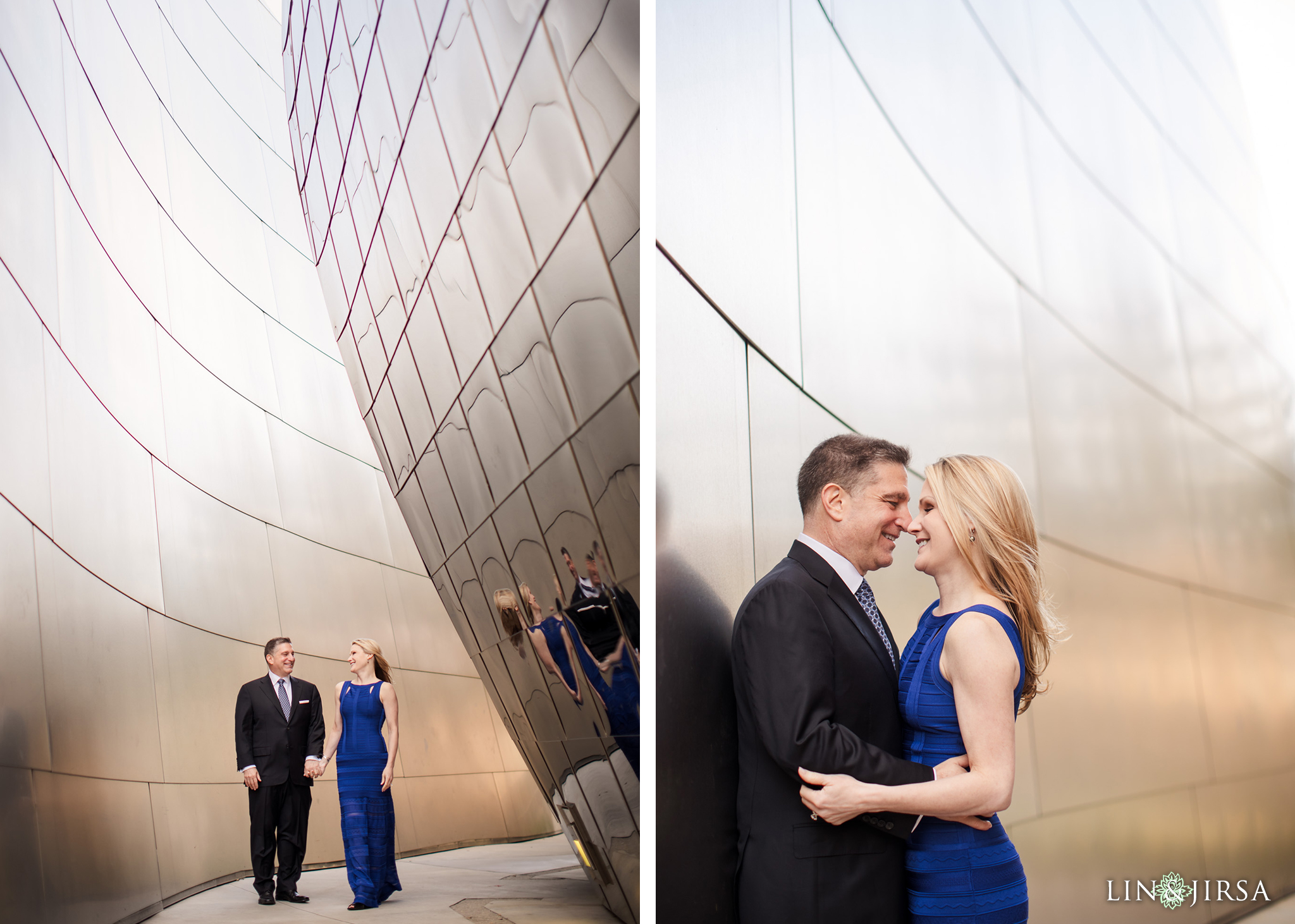 06 Walt Disney Concert Hall Los Angeles Engagement Photography