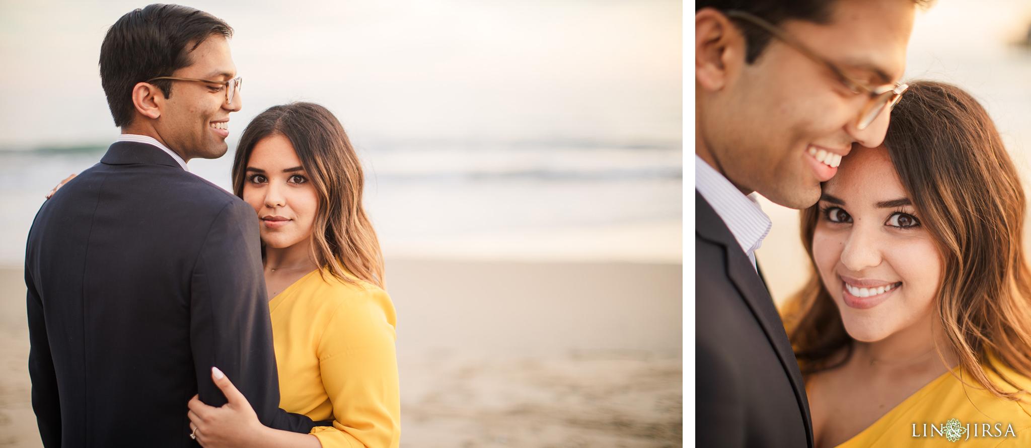 07 Newport Beach Pier Engagement Photography