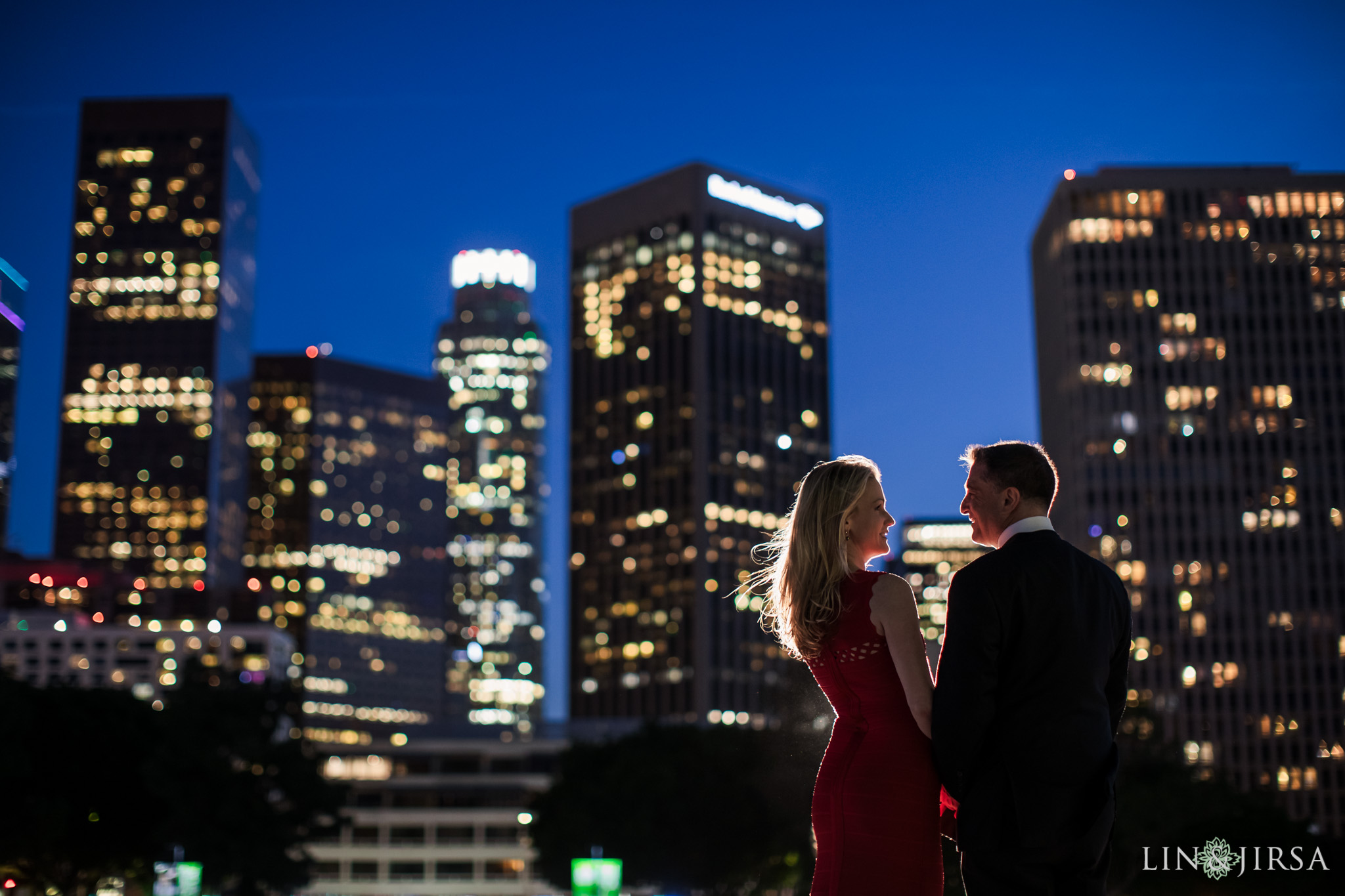 11 Downtown Los Angeles Engagement Photography