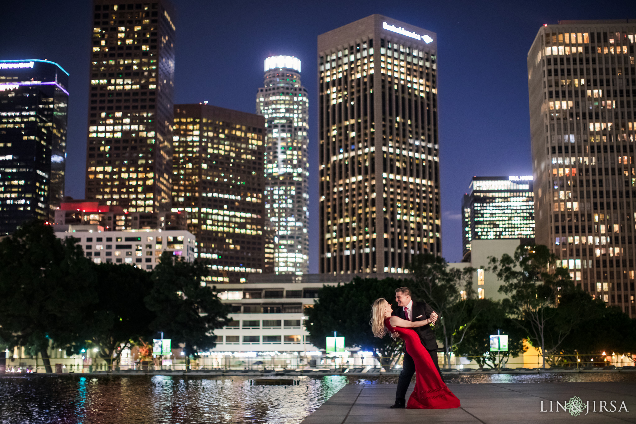 12 Downtown Los Angeles Engagement Photography