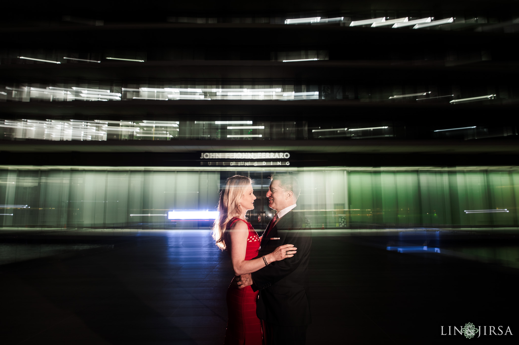 13 Downtown Los Angeles Engagement Photography