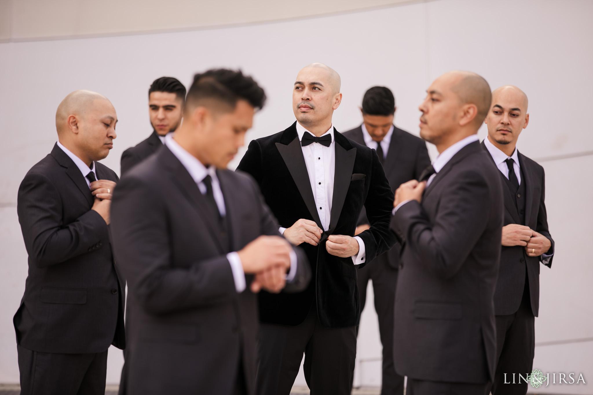 17 City Club Los Angeles Wedding Photography