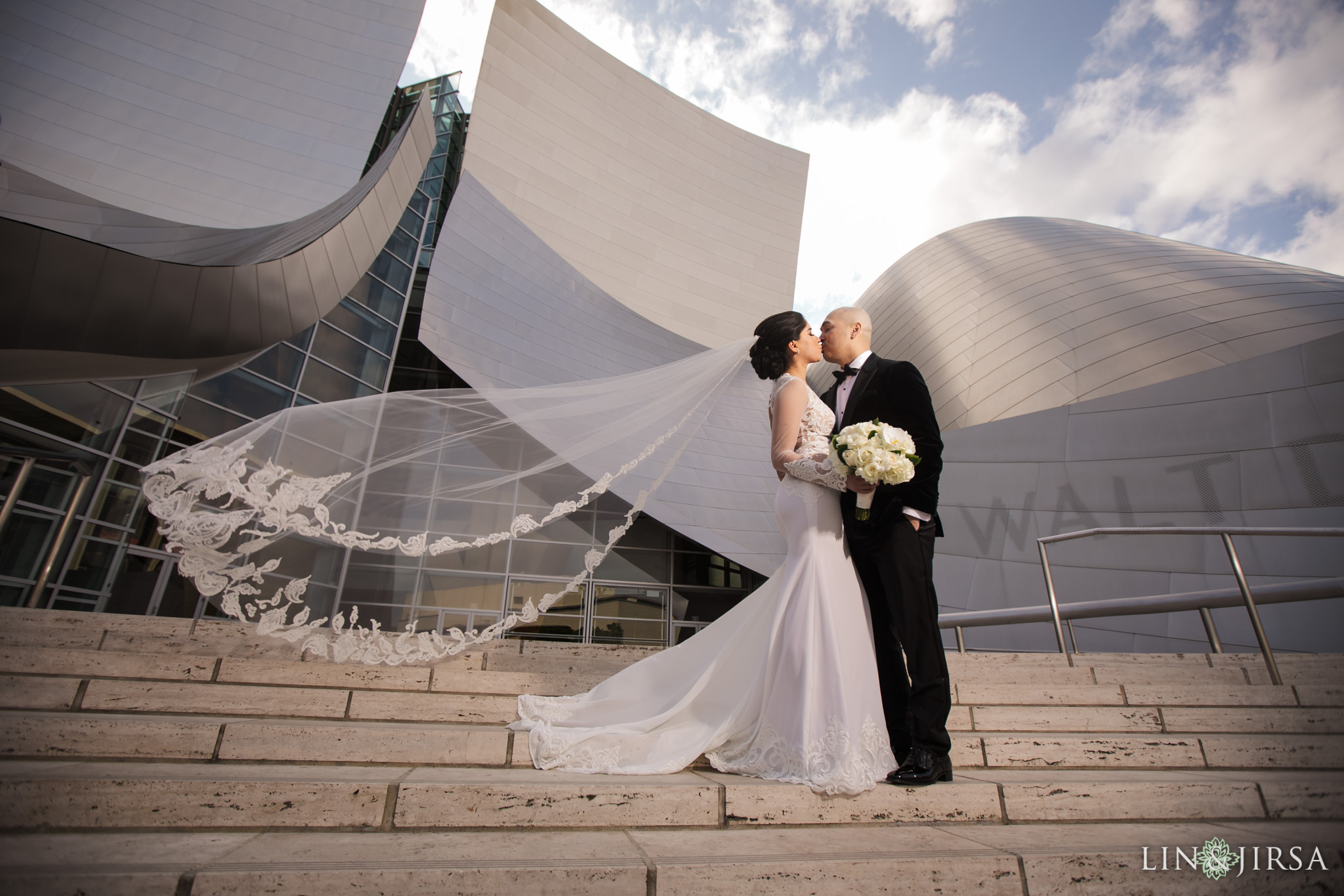 21 City Club Los Angeles Wedding Photography