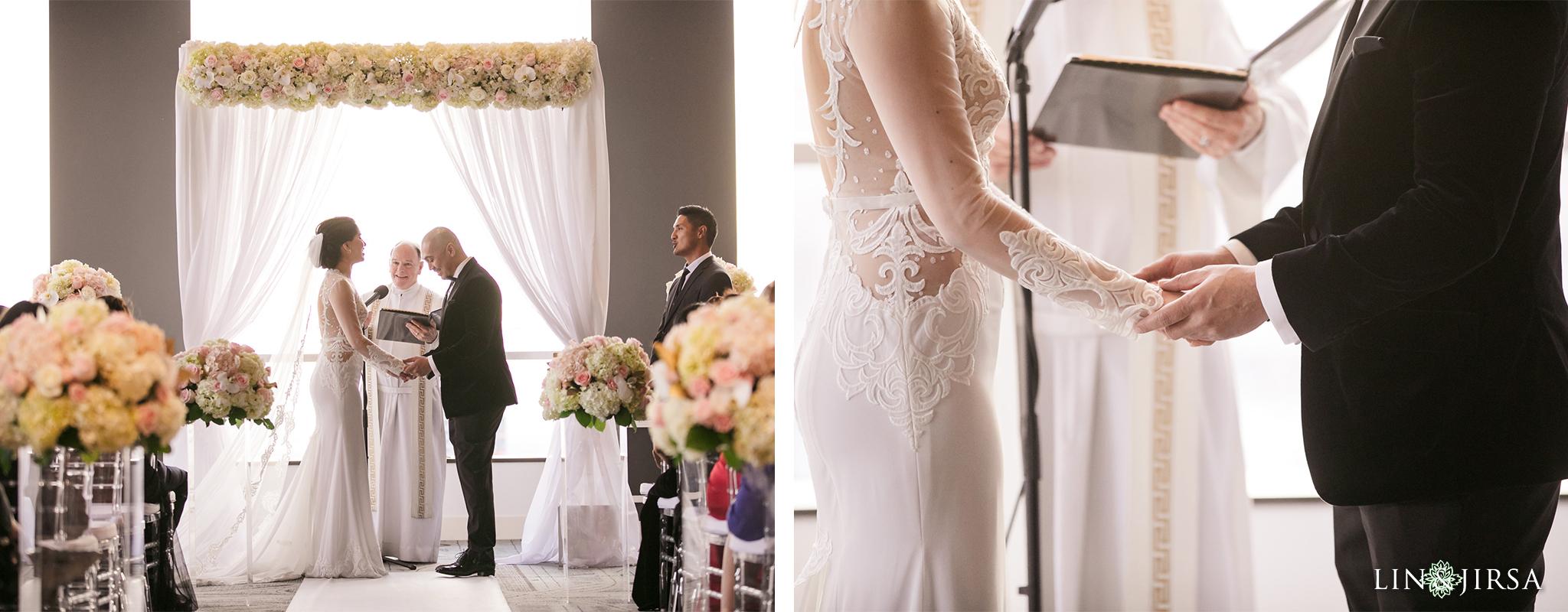 27 City Club Los Angeles Wedding Photography