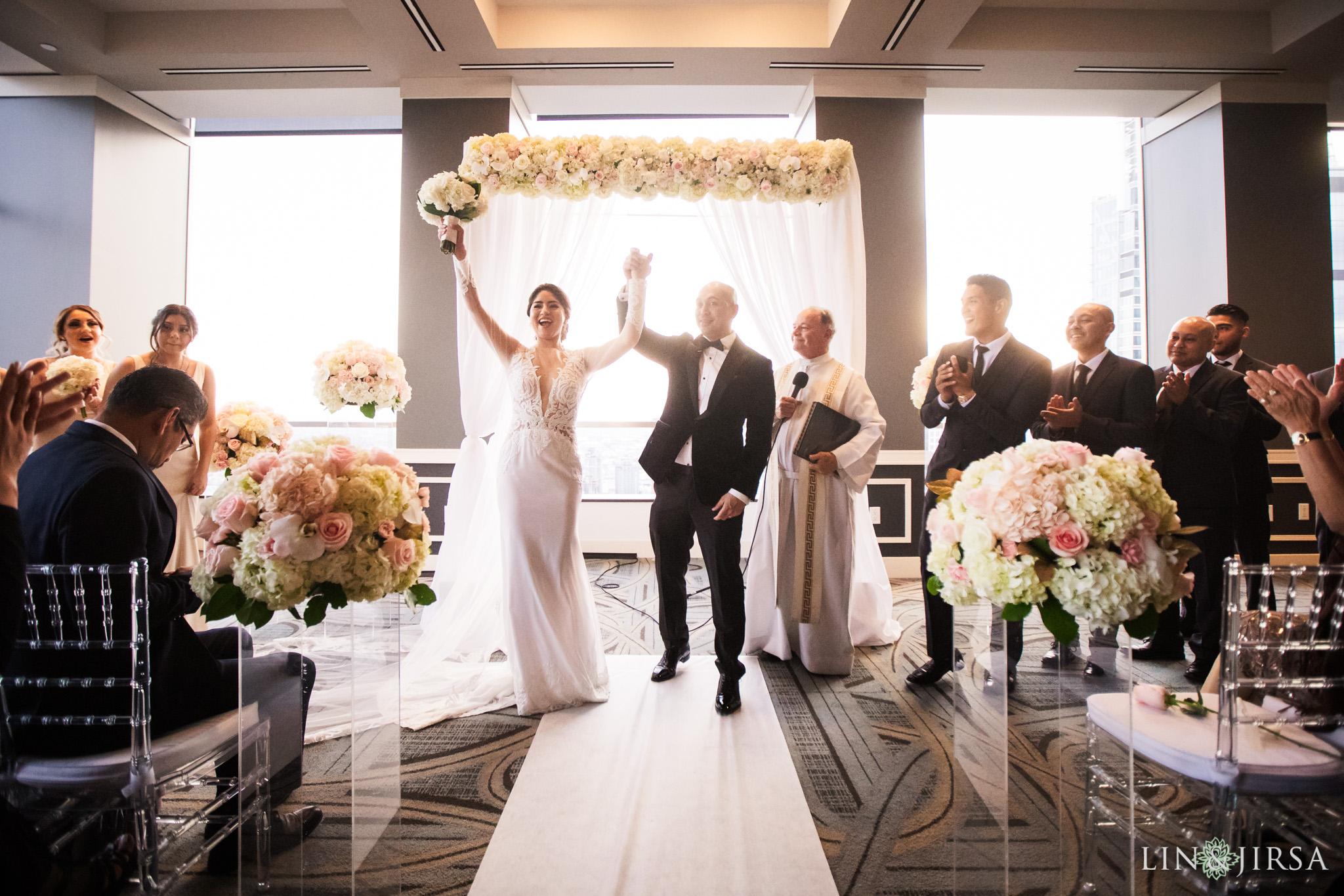 30 City Club Los Angeles Wedding Photography