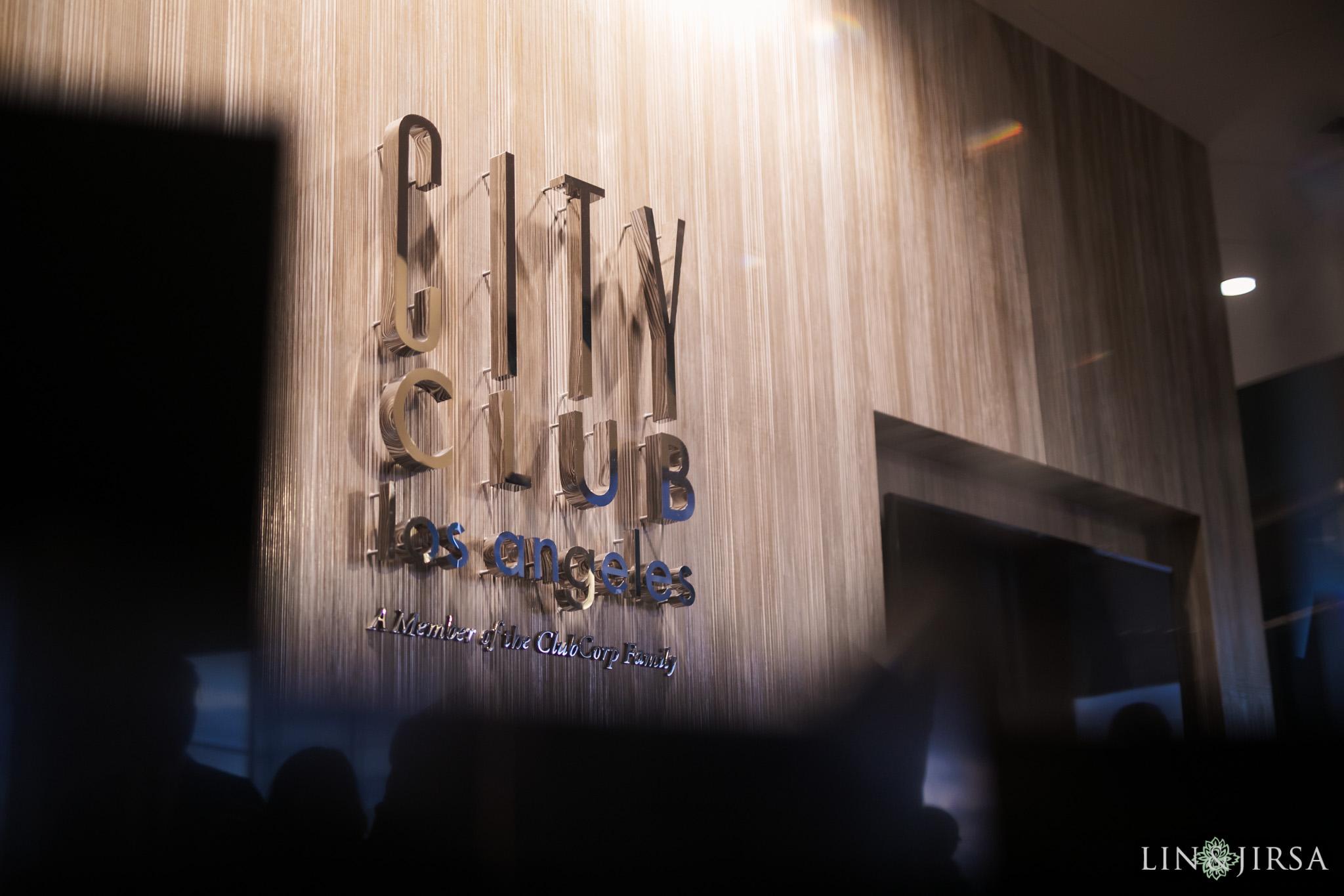 32 City Club Los Angeles Wedding Photography