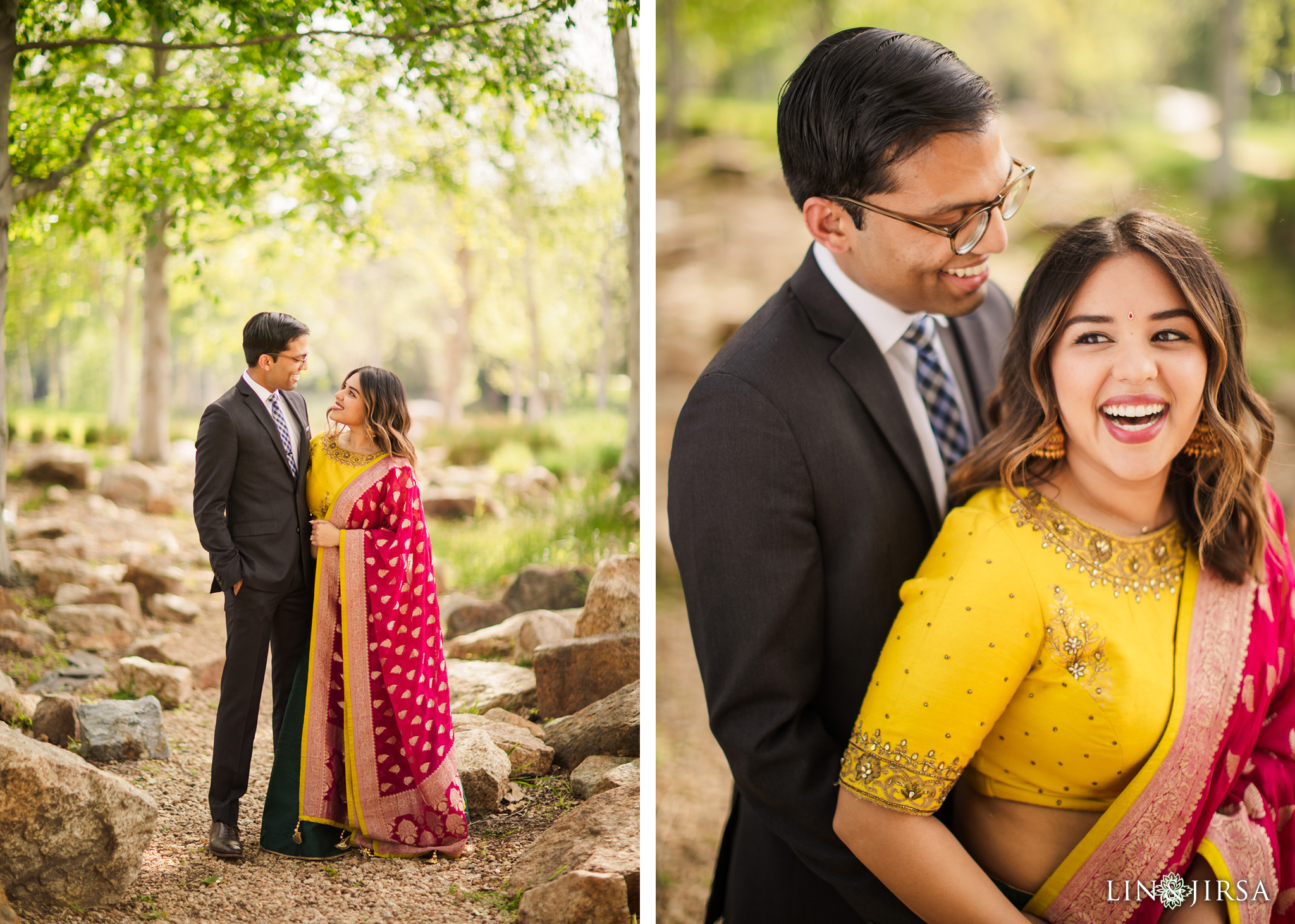 zjl Jeffrey Open Space Indian Engagement Photography