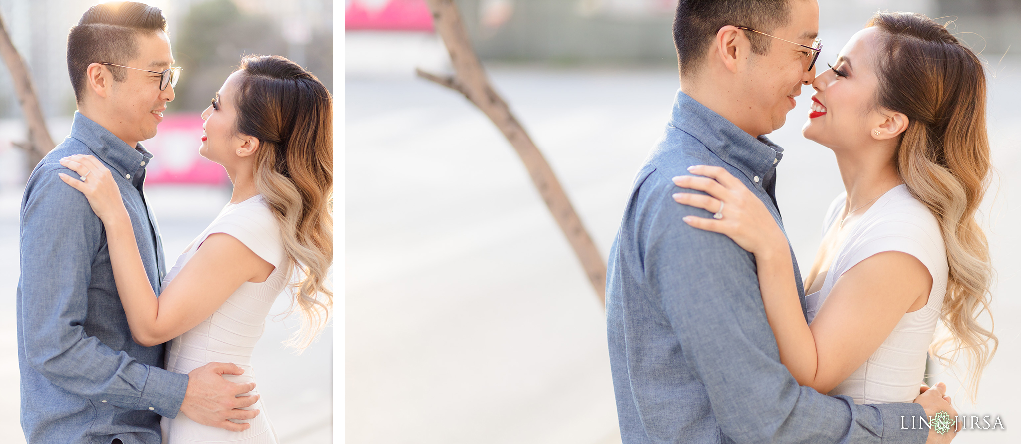 13 Downtown Los Angeles Engagement Street Photography