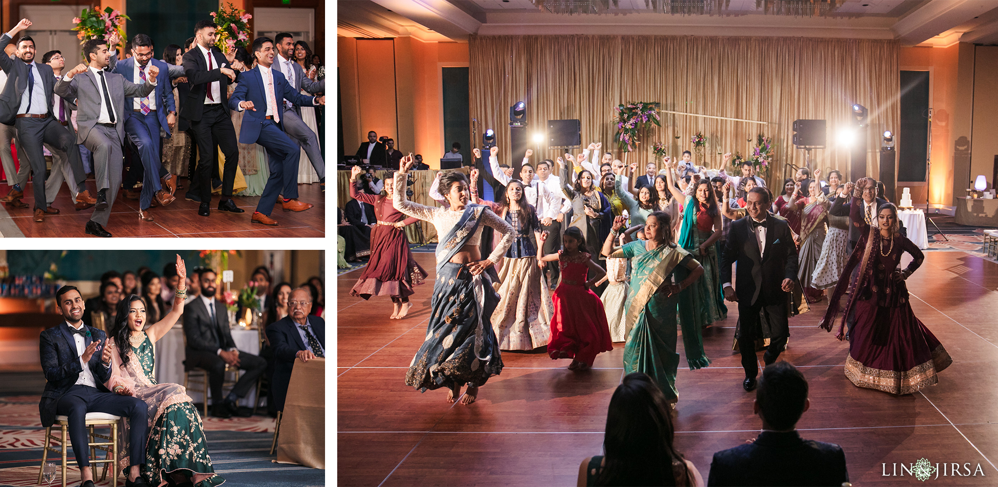 14 Hilton Orlando Florida Indian Wedding Reception Photography