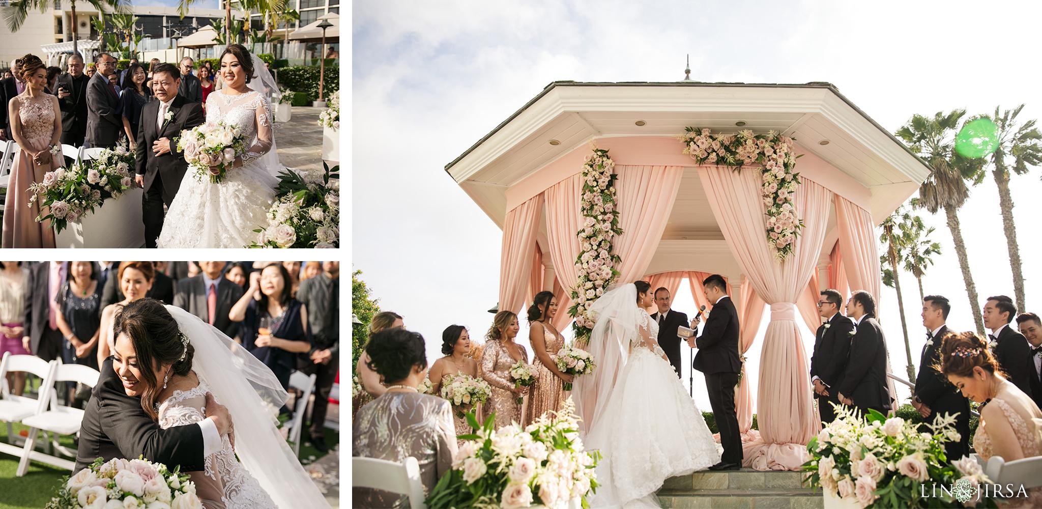 16 The Newport Beach Marriott Hotel Wedding Photography