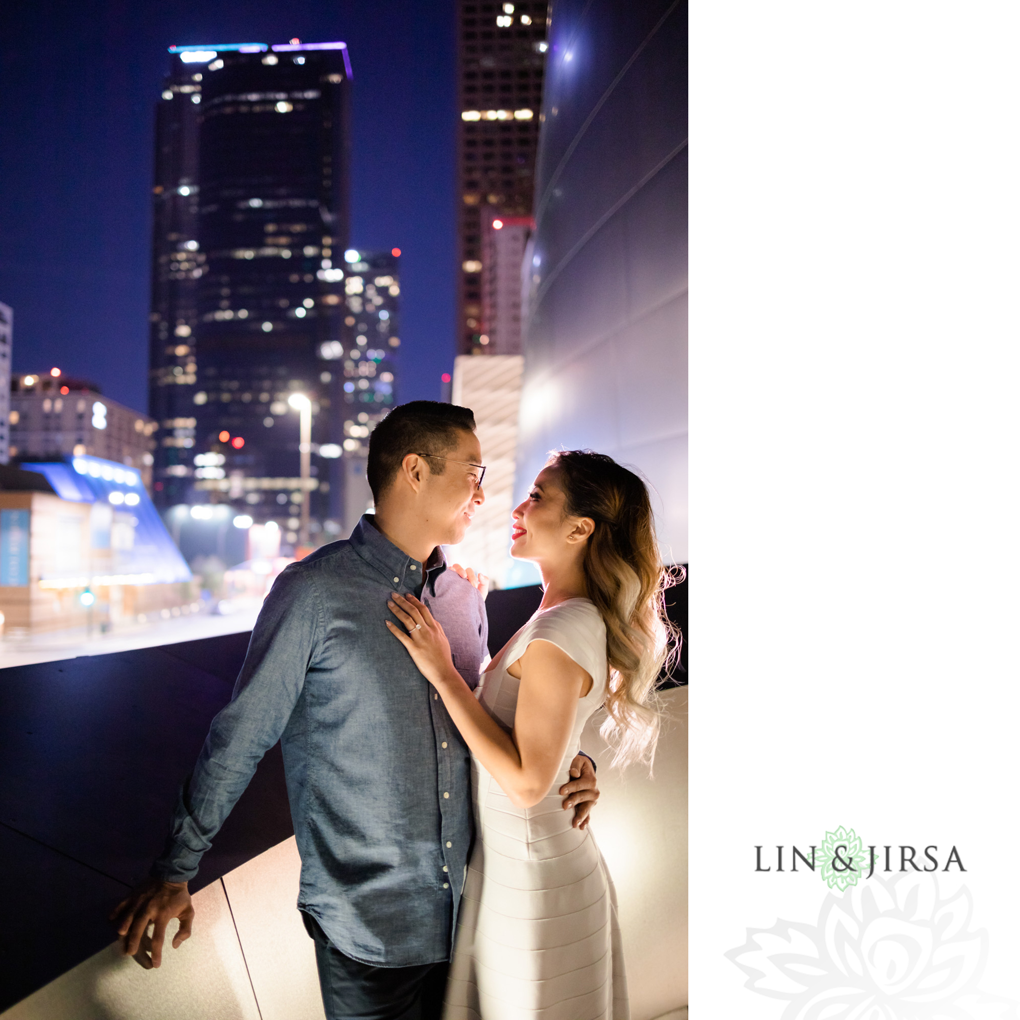 19 Downtown Los Angeles Engagement Street Photography