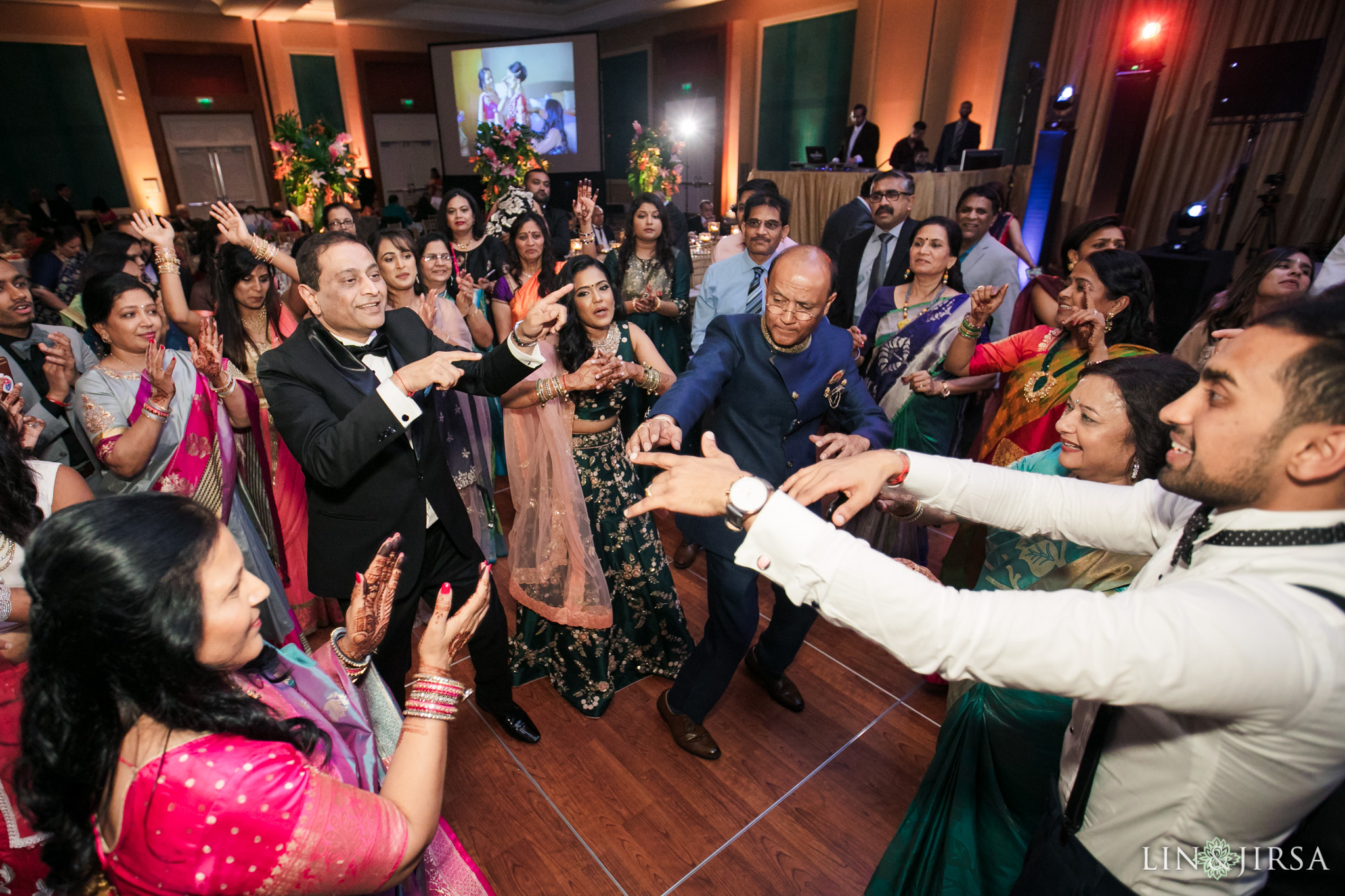 20 Hilton Orlando Florida Indian Wedding Reception Photography