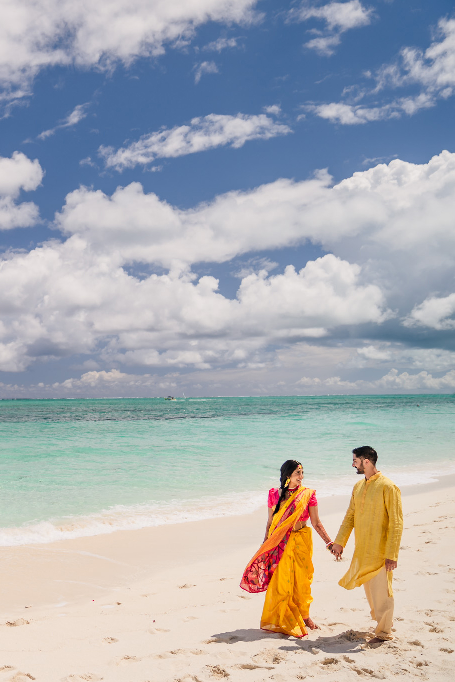00 Beaches Resort Turks and Caicos Indian Wedding Photography