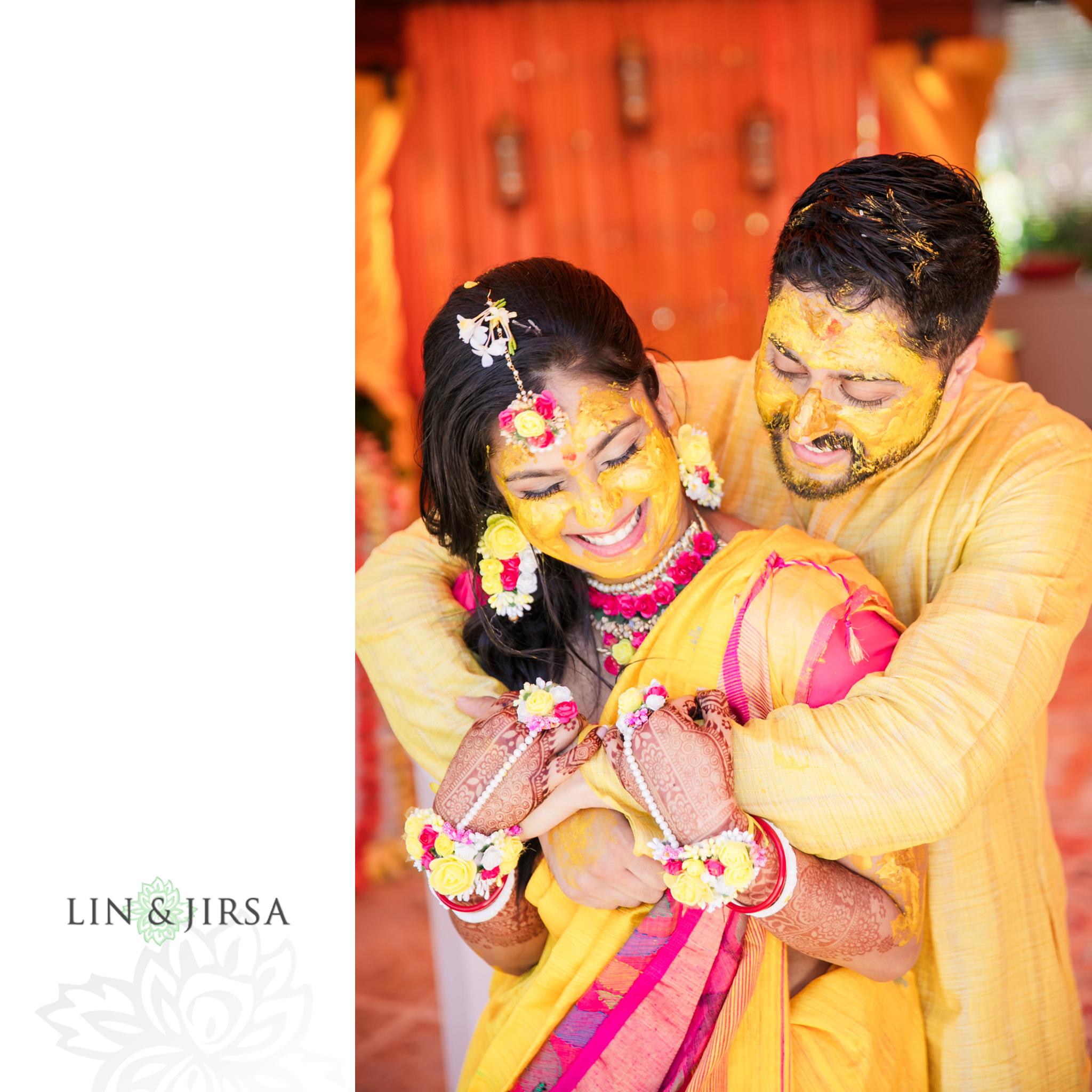 05 Beaches Resort Turks and Caicos Indian Haldi Wedding Photography