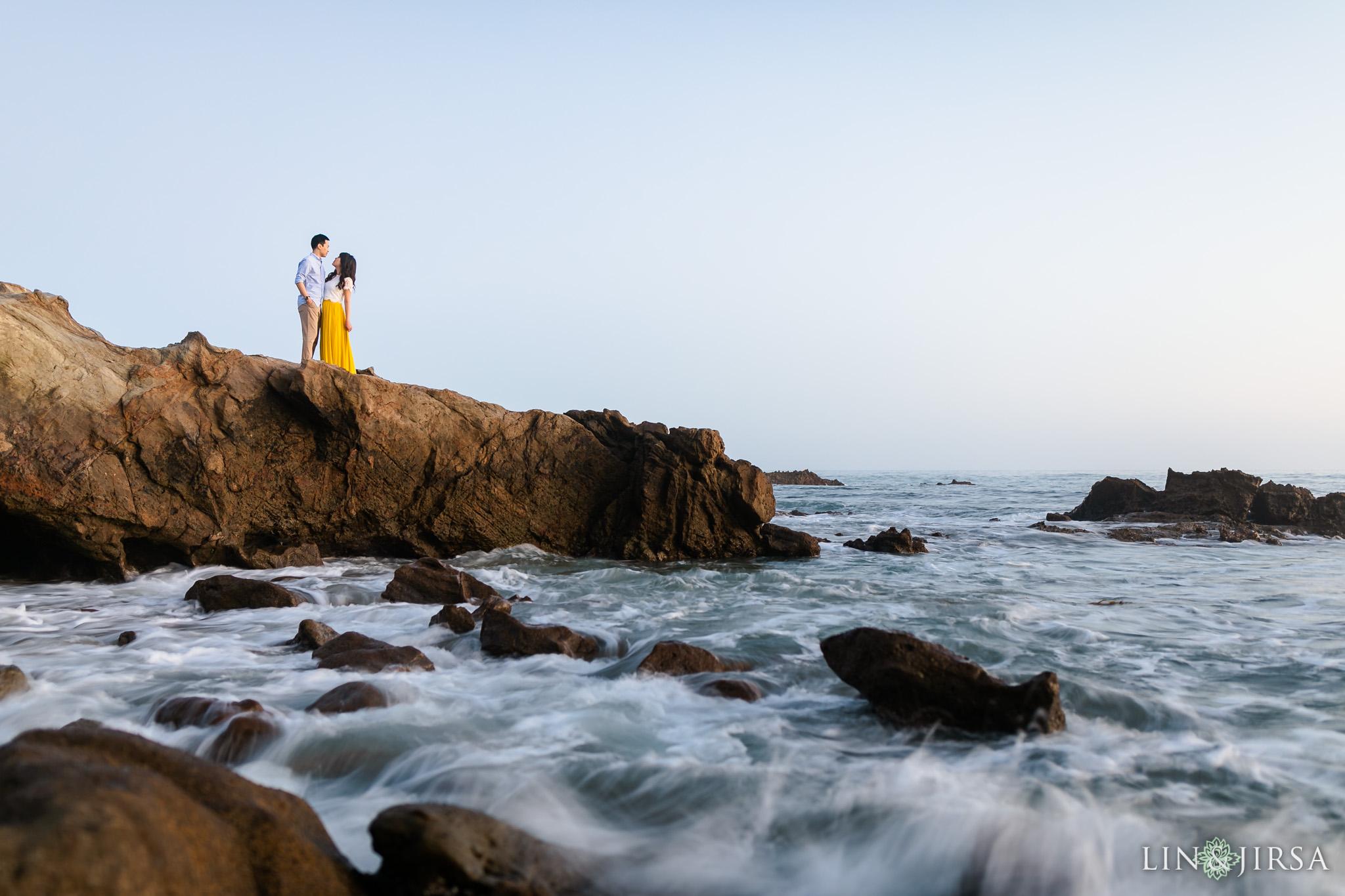12 Heisler Park Orange County Engagement Photography