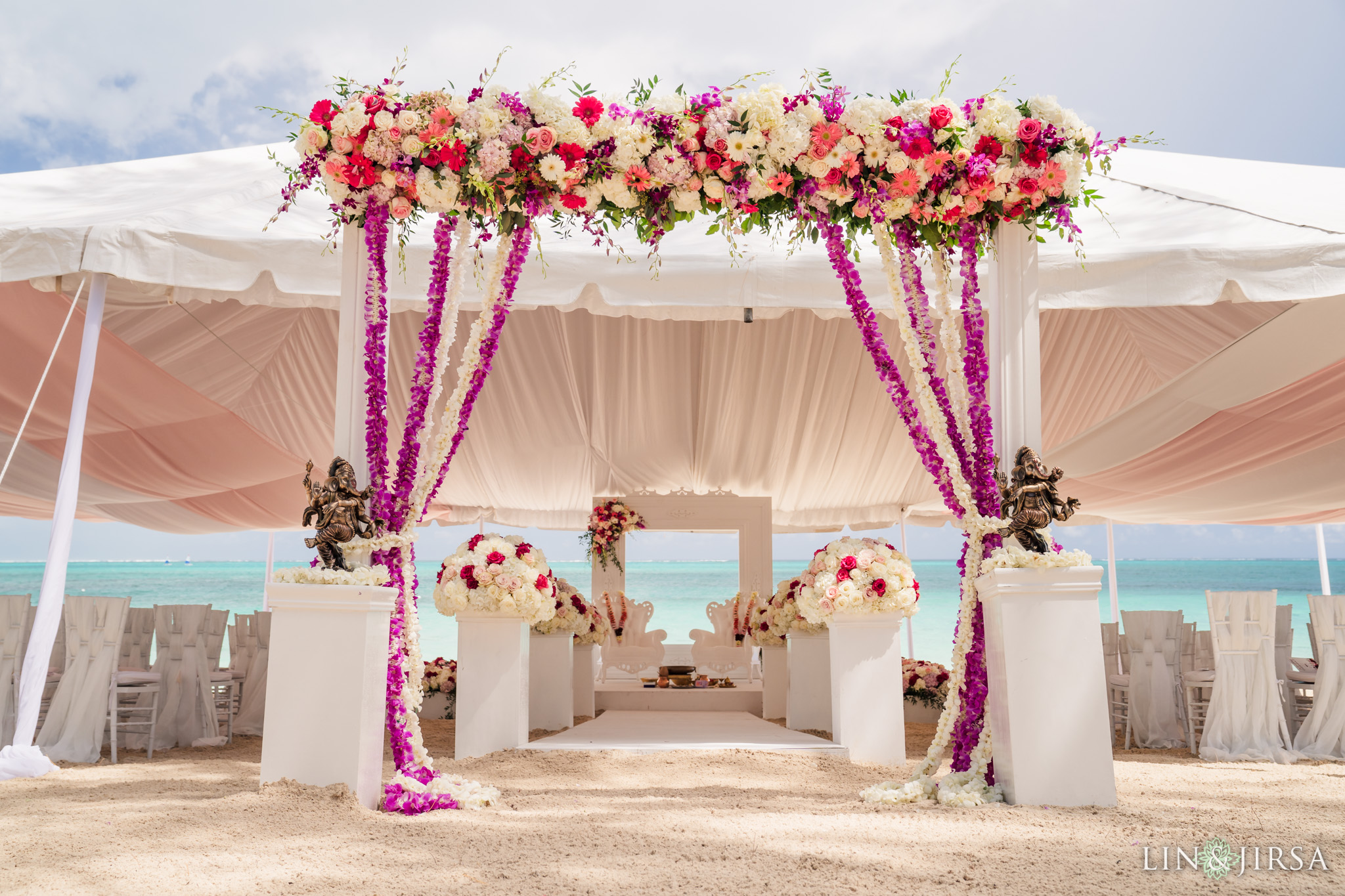 14 Beaches Resort Turks and Caicos Indian Wedding Photography