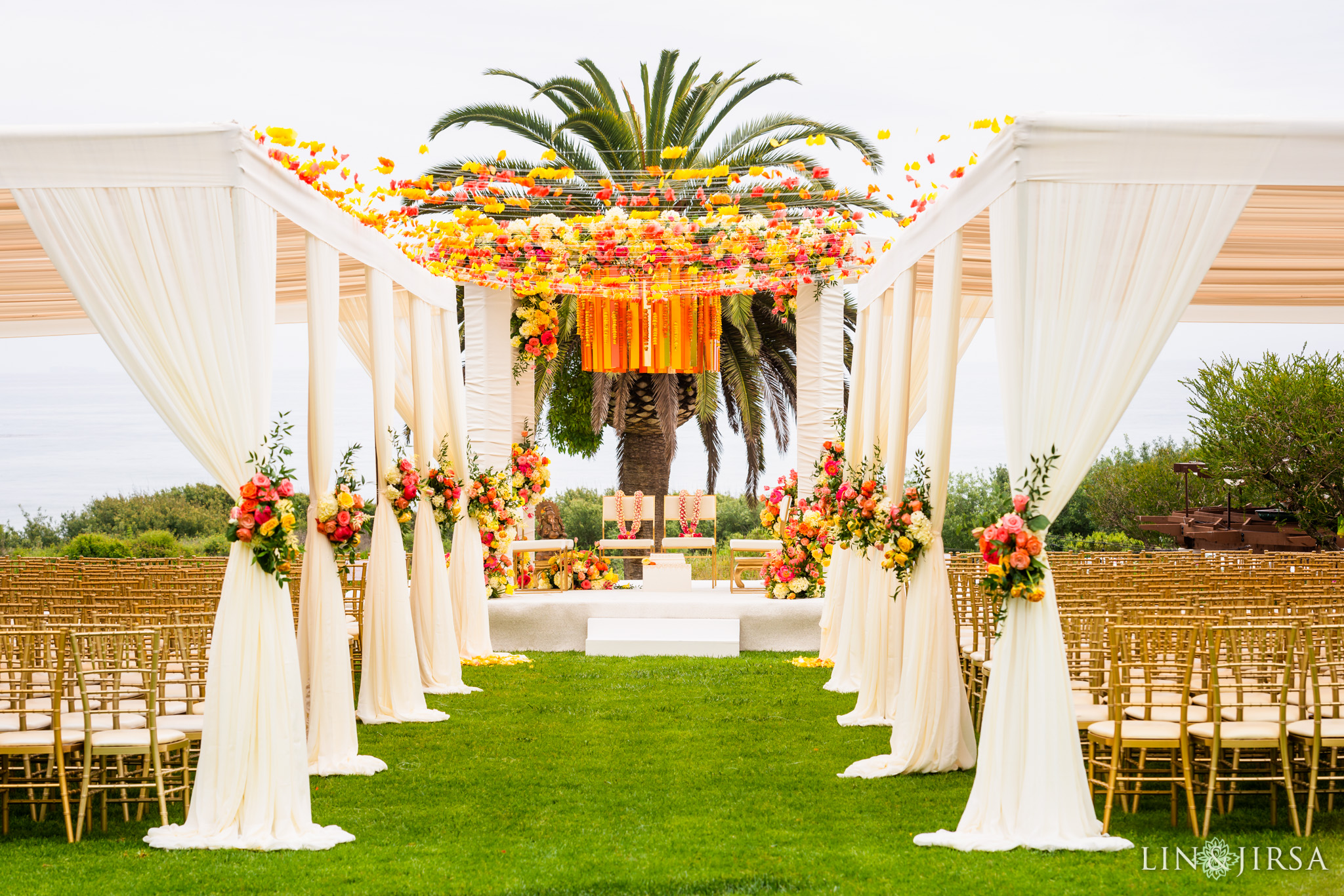 21 Ritz Carlton Bacara Santa Barbara Indian Wedding Photography