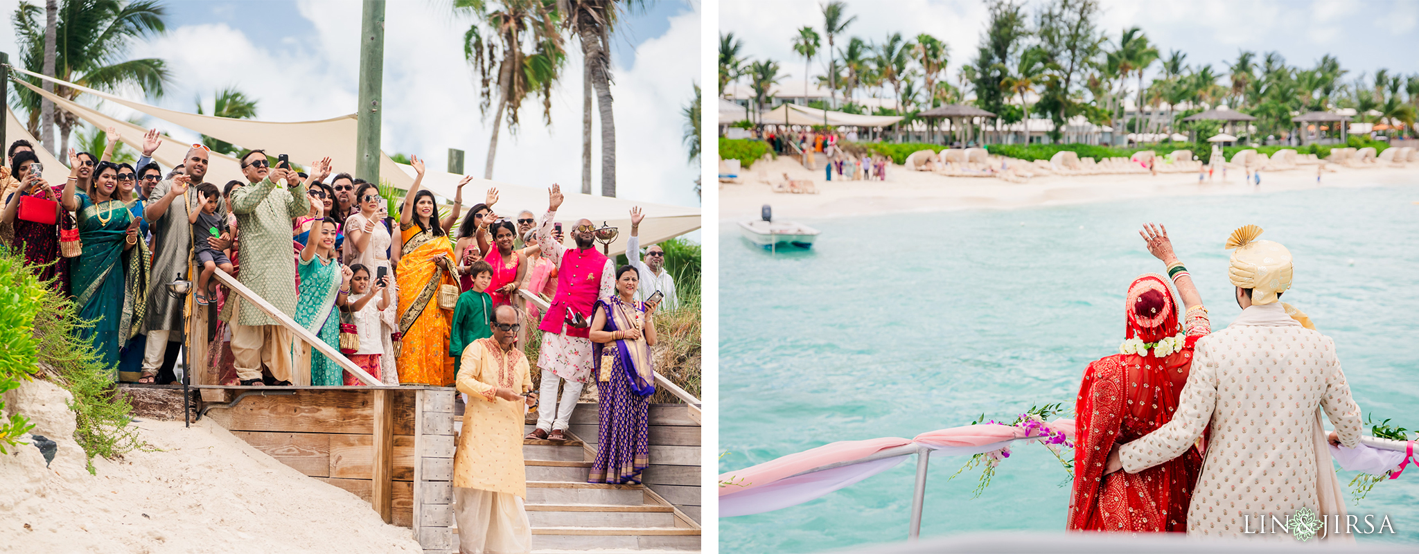 27 Beaches Resort Turks and Caicos Indian Wedding Photography
