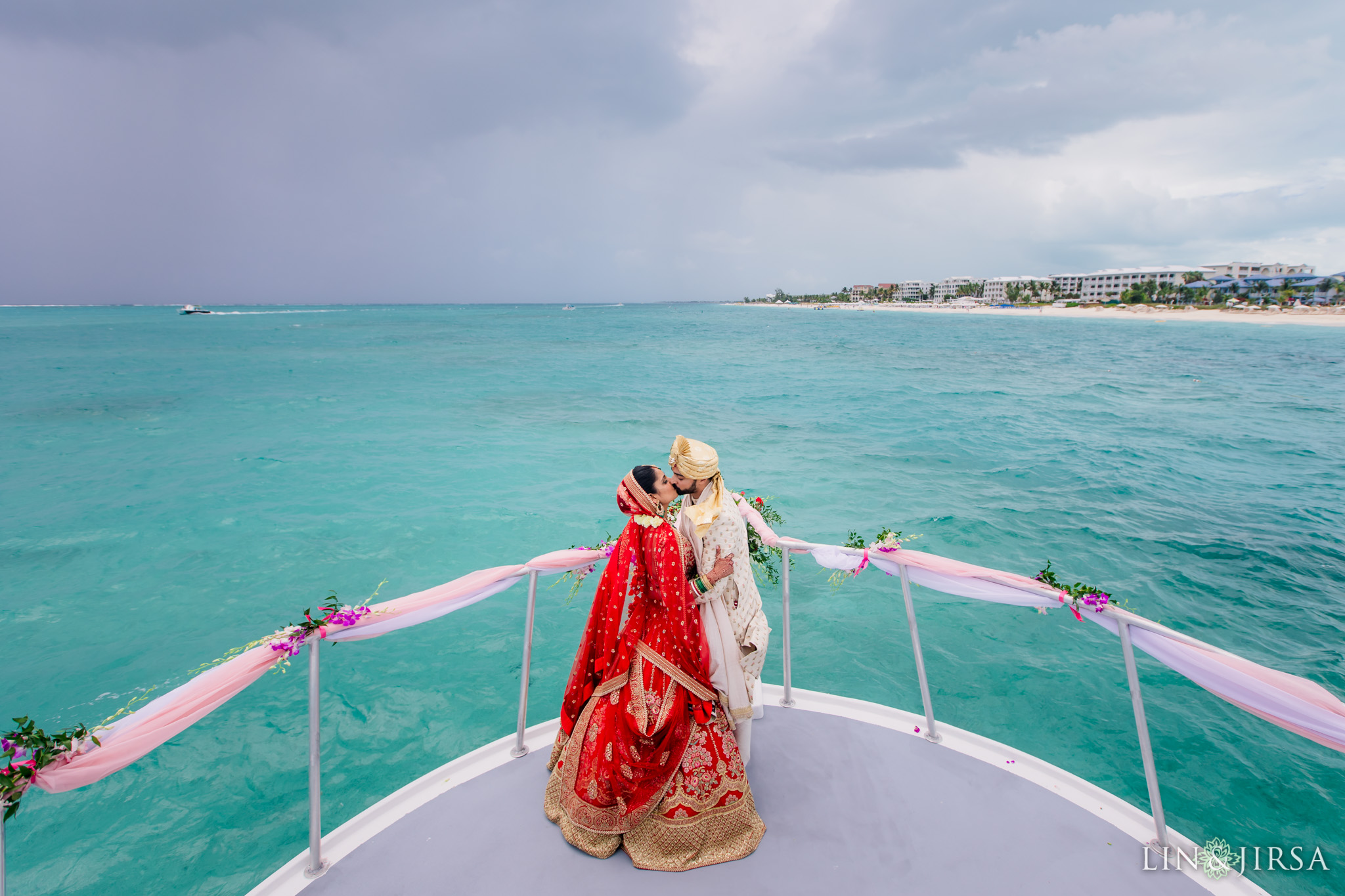 28 Beaches Resort Turks and Caicos Indian Wedding Photography