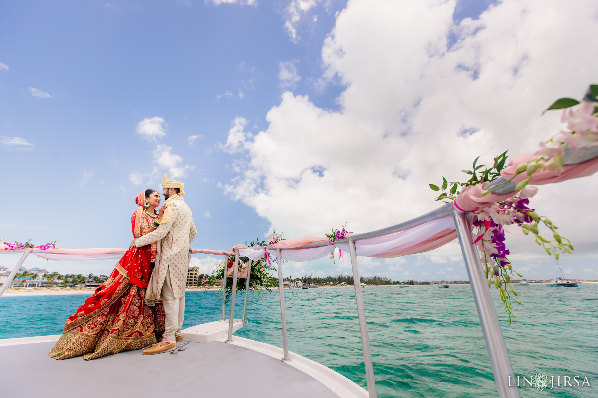 29 Beaches Resort Turks and Caicos Indian Wedding Photography