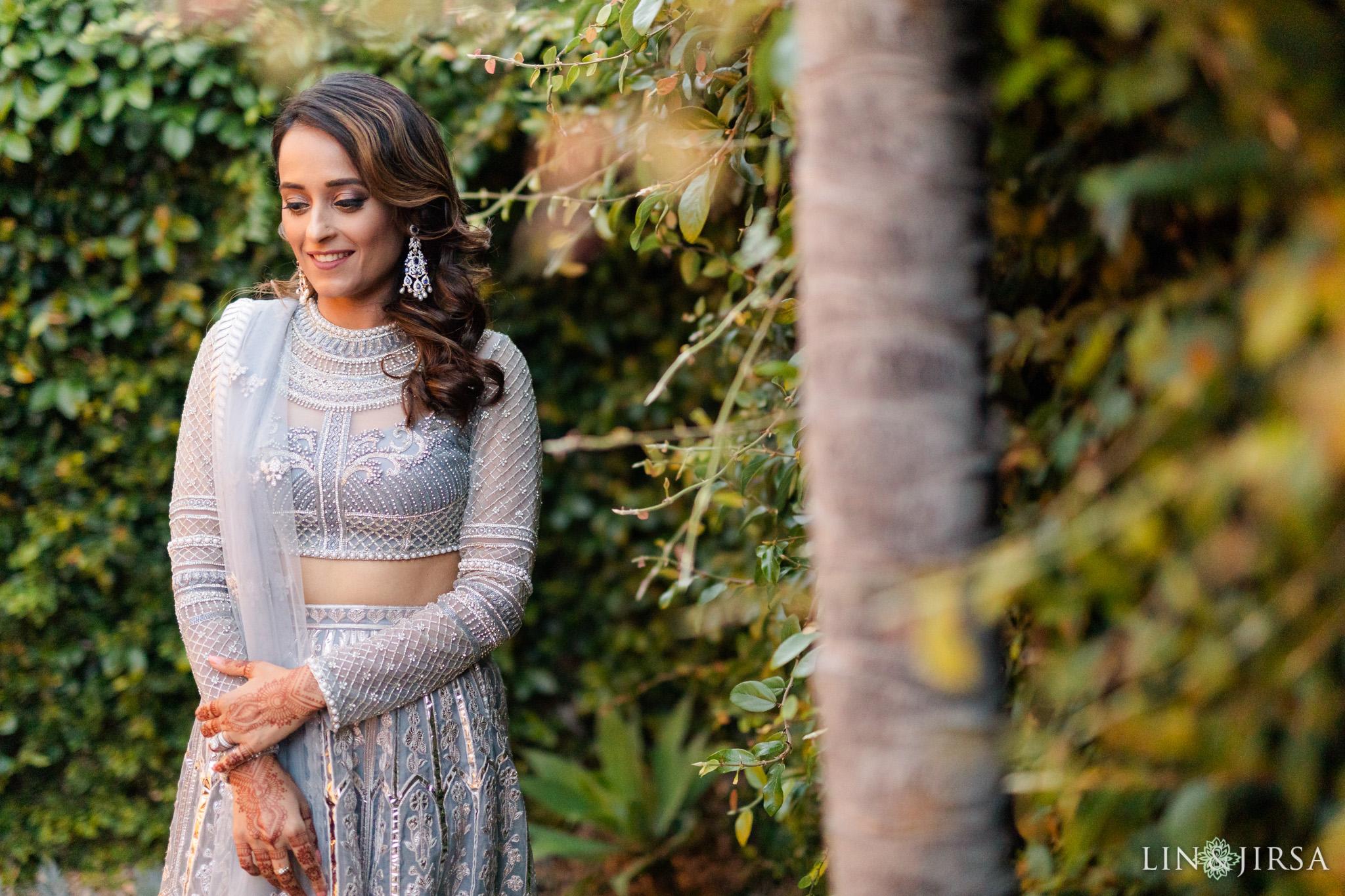 02 Hilton Santa Barbara Beachfront Resort Indian Wedding Reception Photography