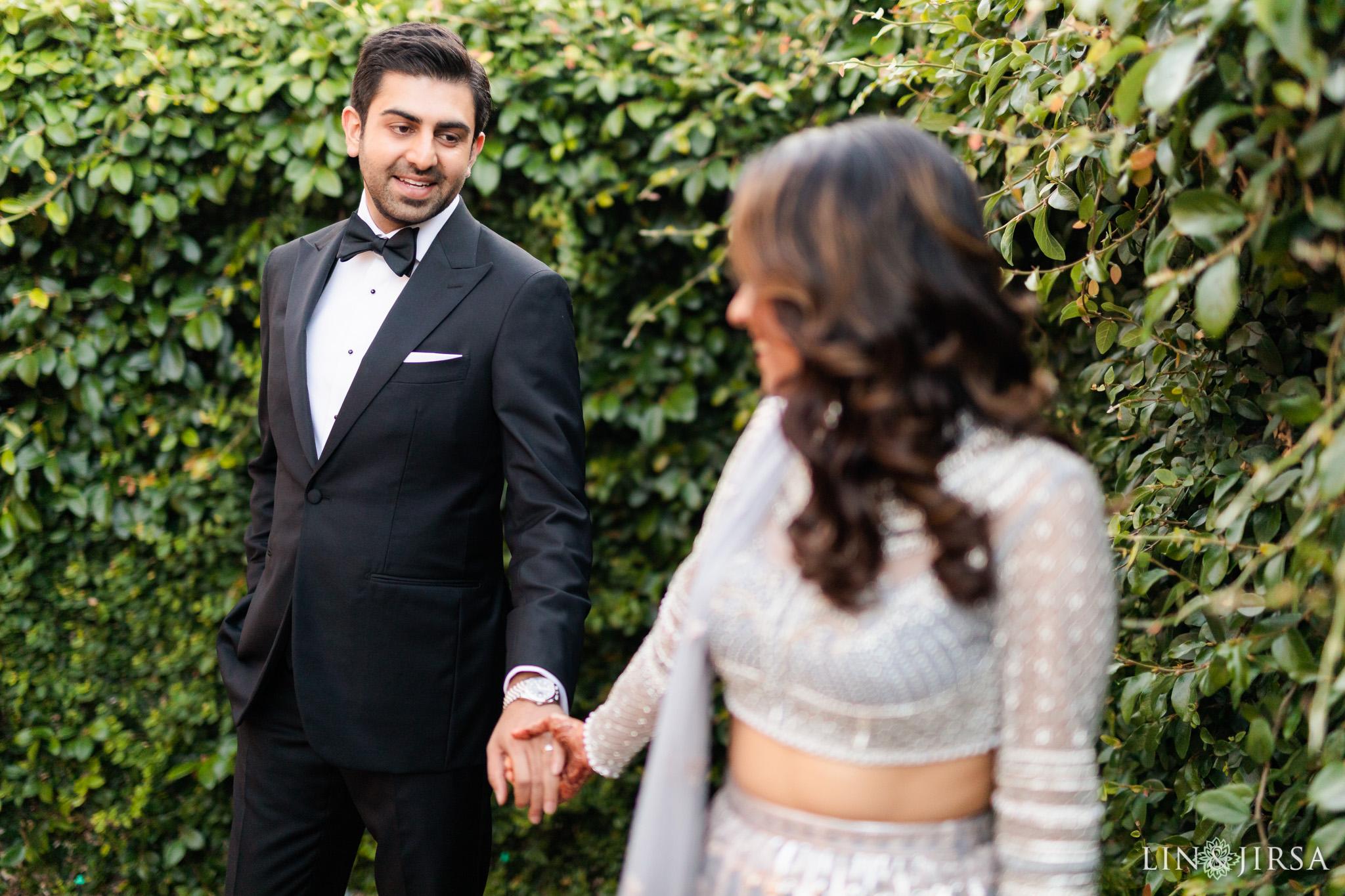 04 Hilton Santa Barbara Beachfront Resort Indian Wedding Reception Photography