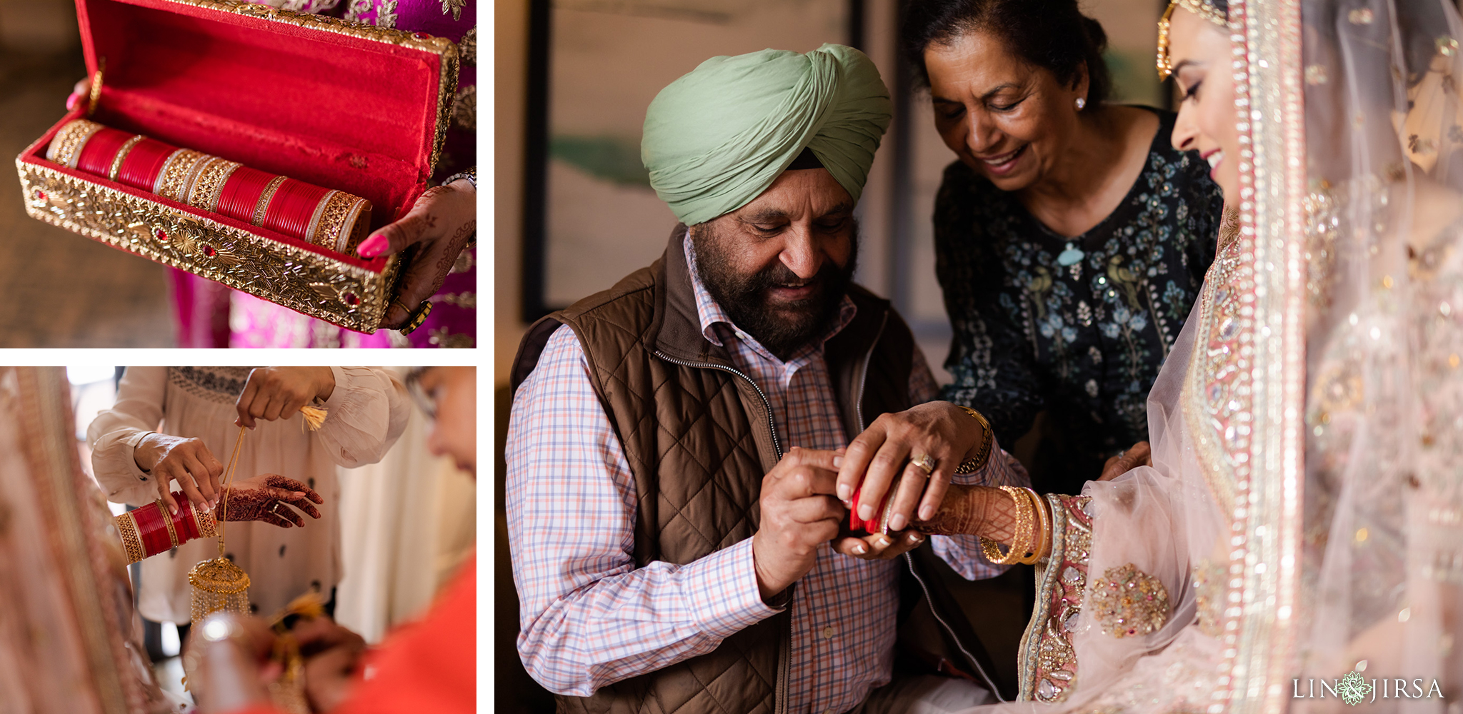 04 Hilton Santa Barbara Beachfront Resort Punjabi Indian Wedding Ceremony Photography