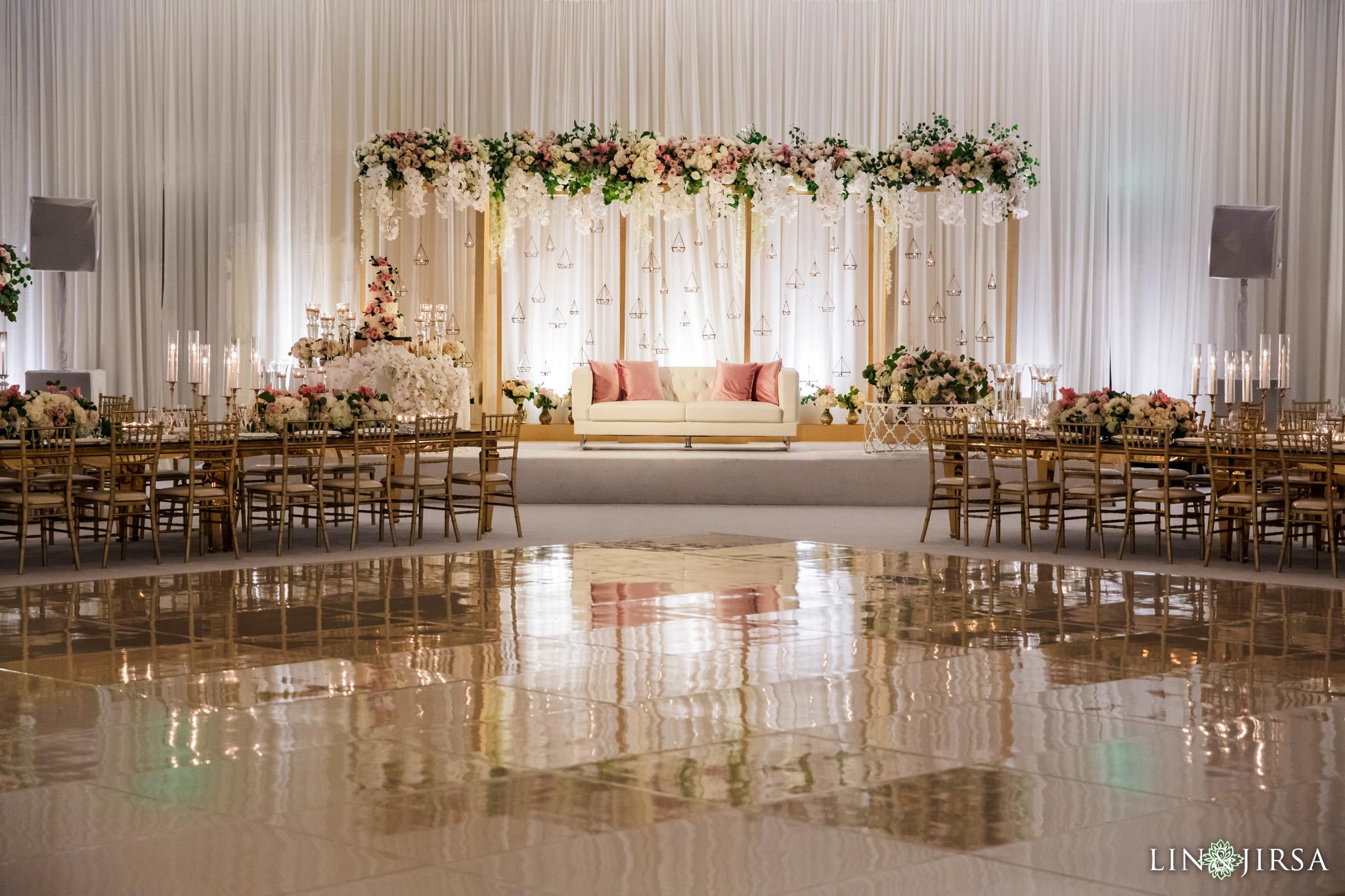 06 Hilton Santa Barbara Beachfront Resort Indian Wedding Reception Photography