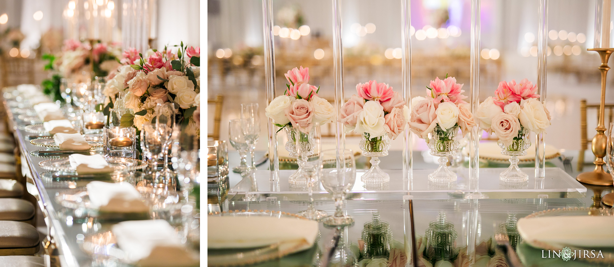 07 Hilton Santa Barbara Beachfront Resort Indian Wedding Reception Photography