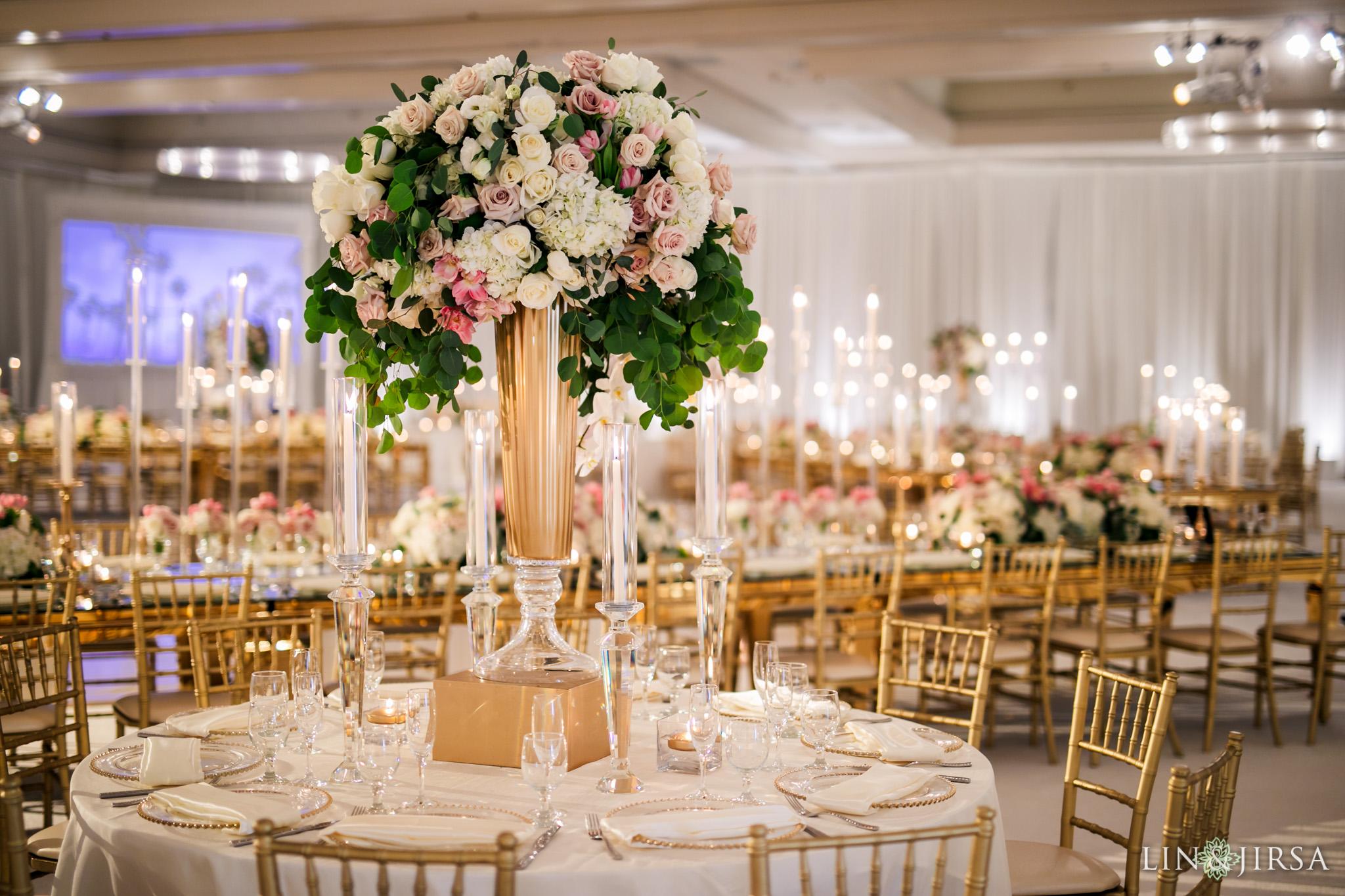 09 Hilton Santa Barbara Beachfront Resort Indian Wedding Reception Photography