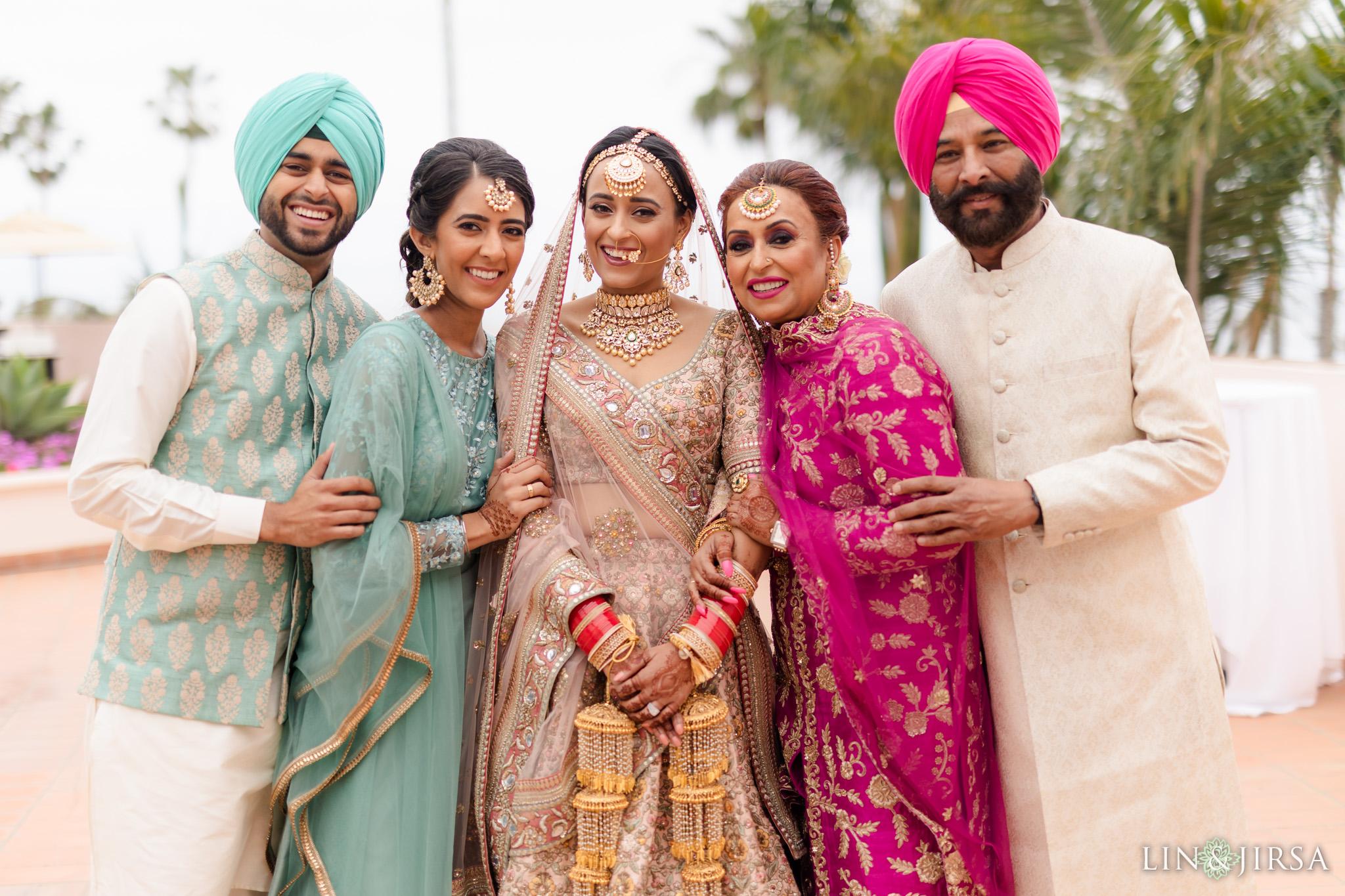 11 Hilton Santa Barbara Beachfront Resort Punjabi Indian Wedding Ceremony Photography