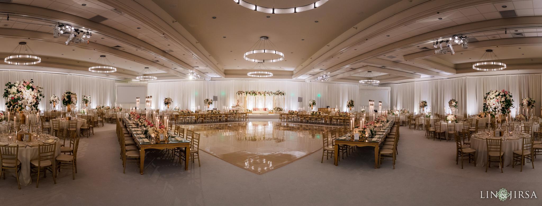13 Hilton Santa Barbara Beachfront Resort Indian Wedding Reception Photography