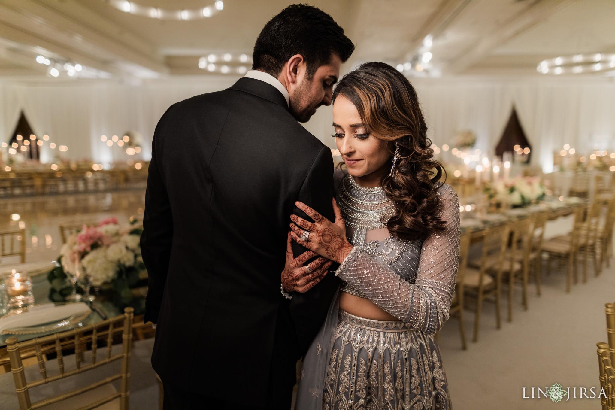 14 Hilton Santa Barbara Beachfront Resort Indian Wedding Reception Photography