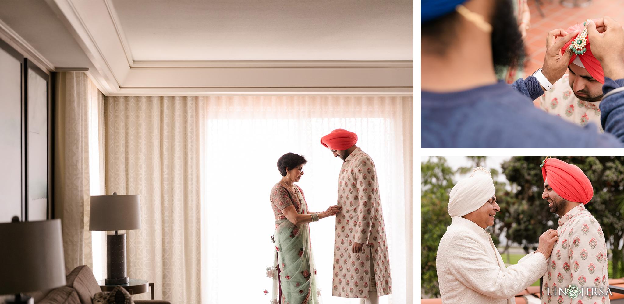 16 Hilton Santa Barbara Beachfront Resort Punjabi Indian Wedding Ceremony Photography