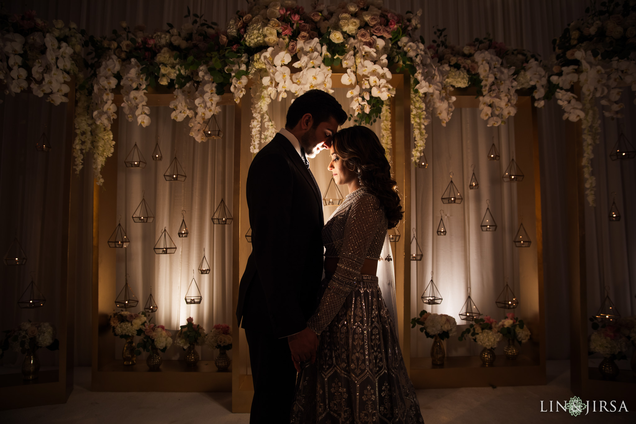 17 Hilton Santa Barbara Beachfront Resort Indian Wedding Reception Photography