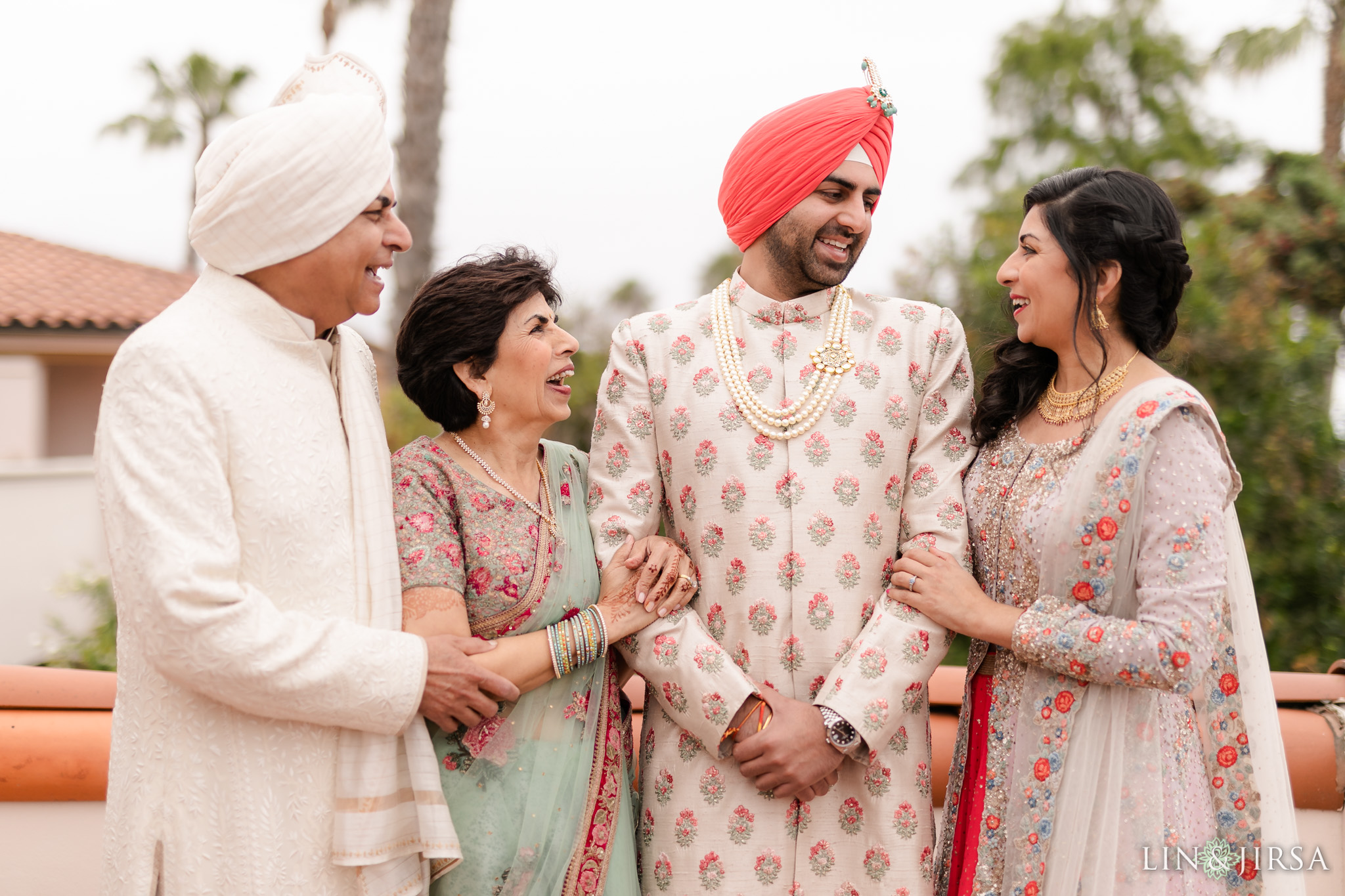 17 Hilton Santa Barbara Beachfront Resort Punjabi Indian Wedding Ceremony Photography